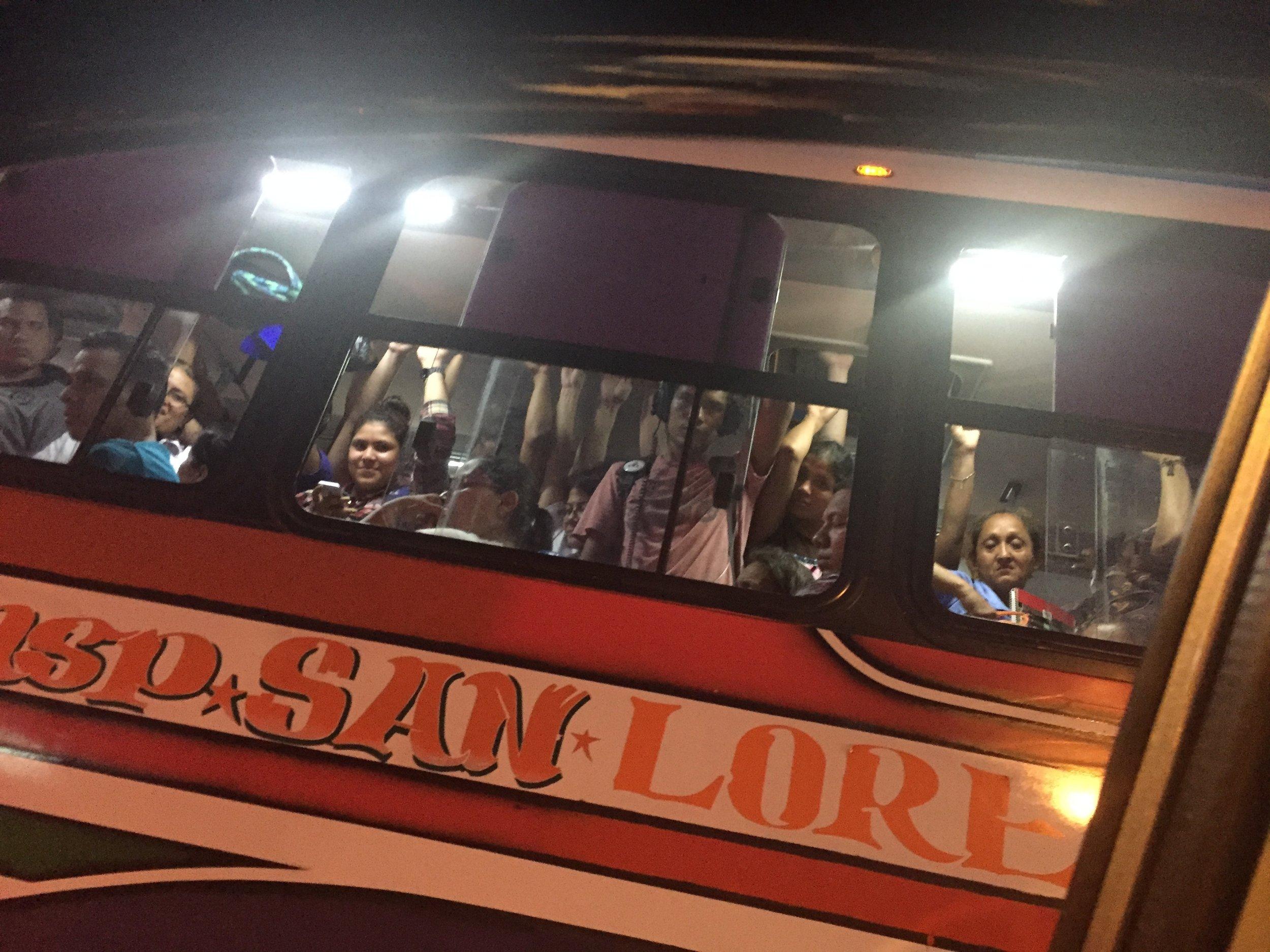 النقل العام كما يبدو في مناغوا