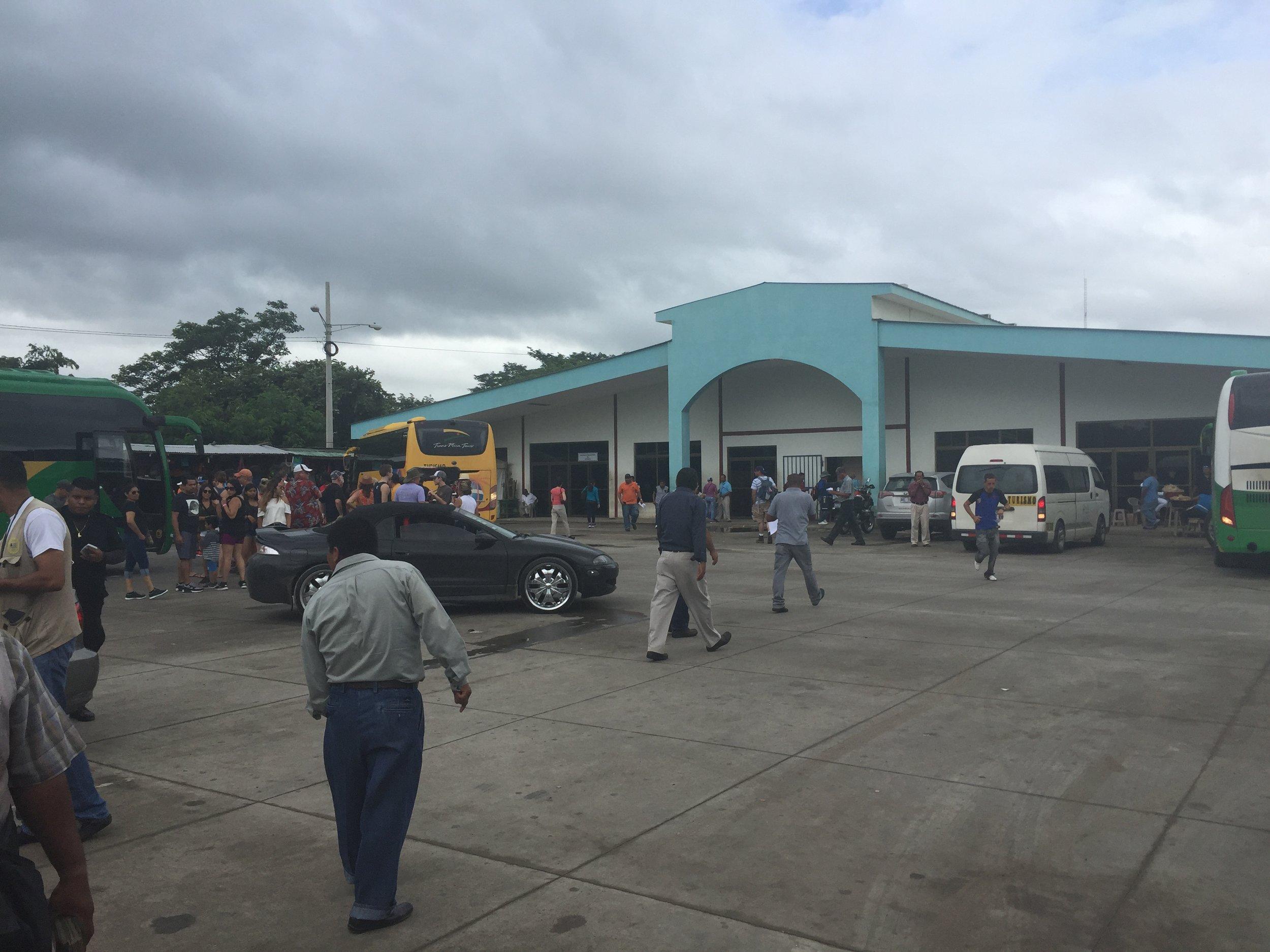 الحدود البرية بين نيكاراغوا وكوستاريكا