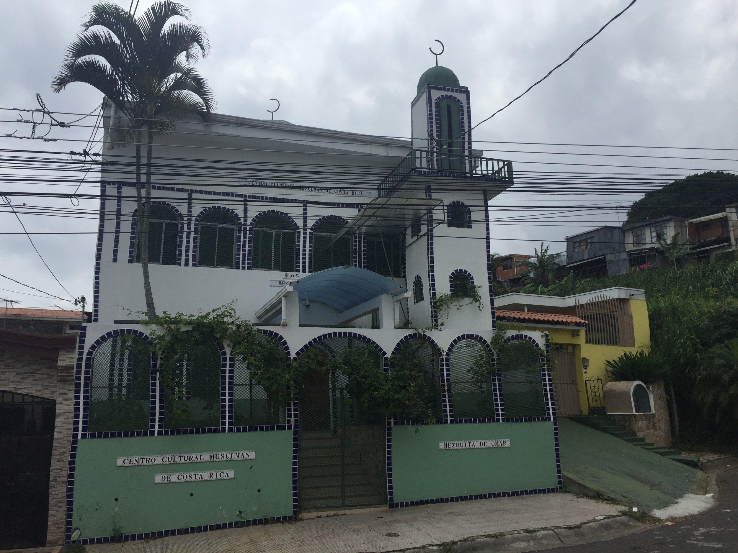 مسجد عمر من الخارج