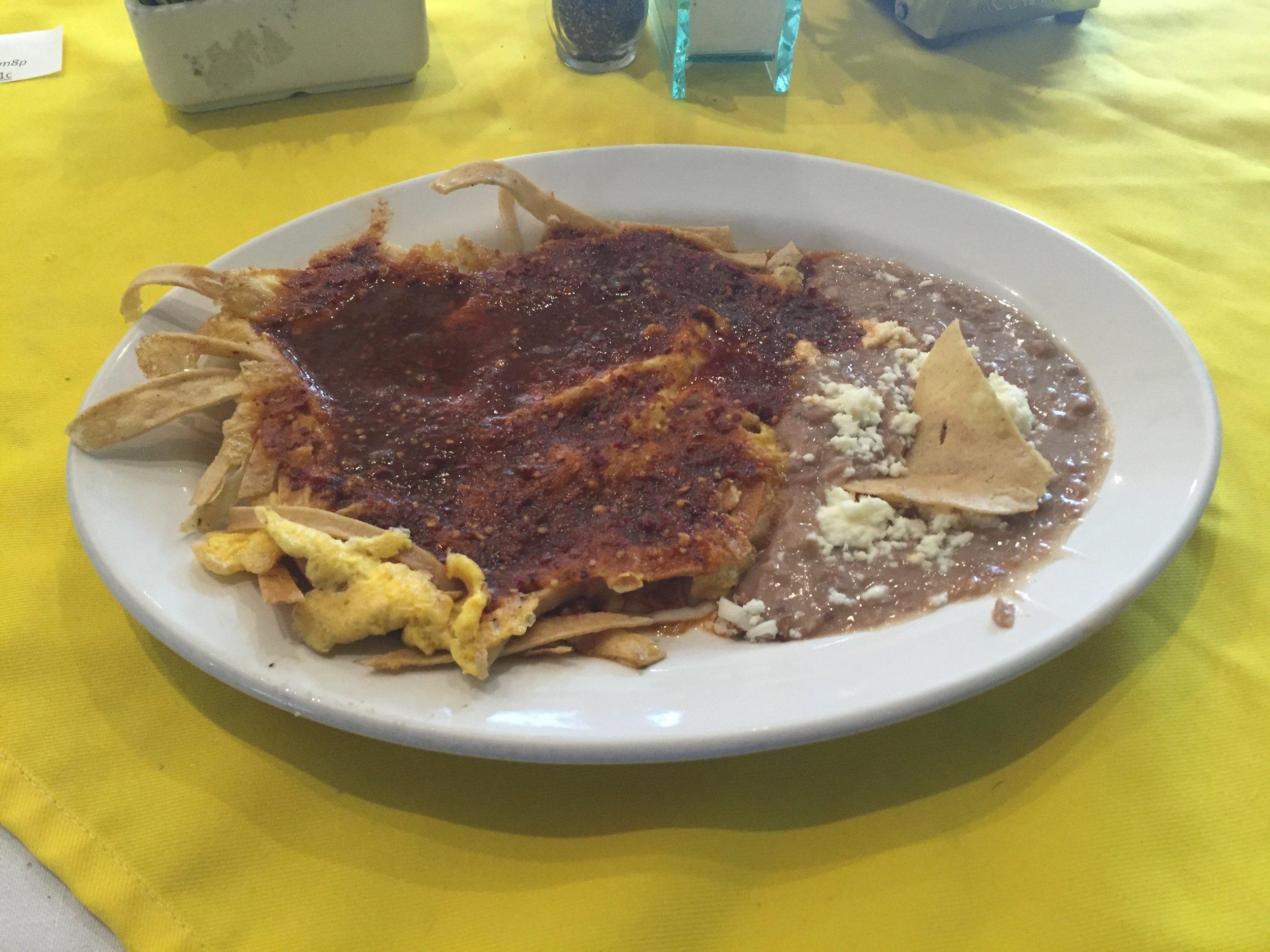 فطور مكسيكي