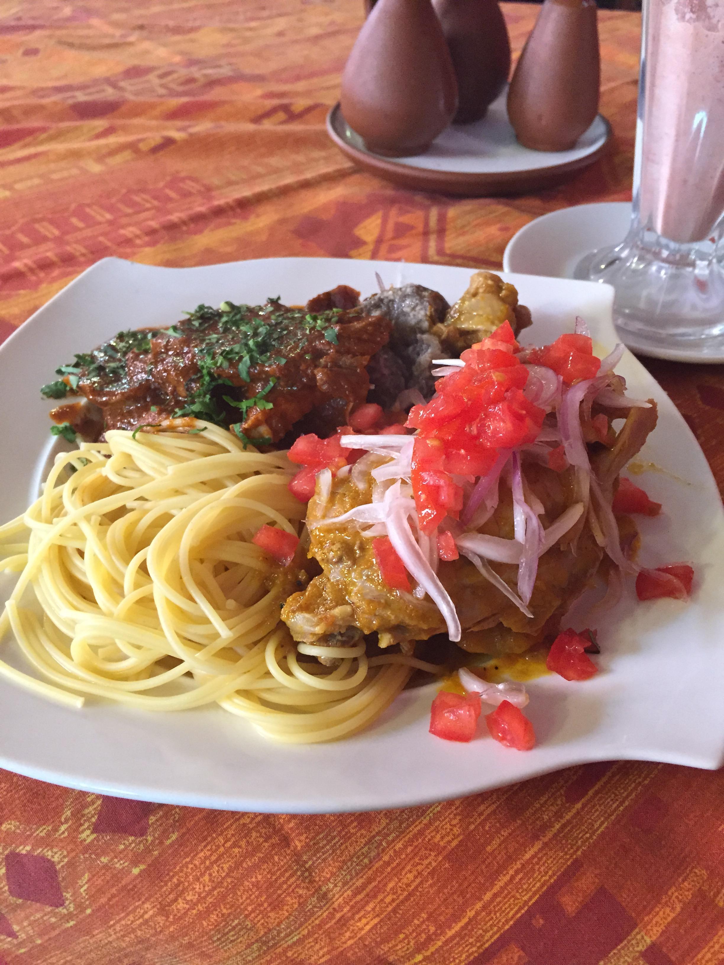 وجبة غداء في بوليفيا