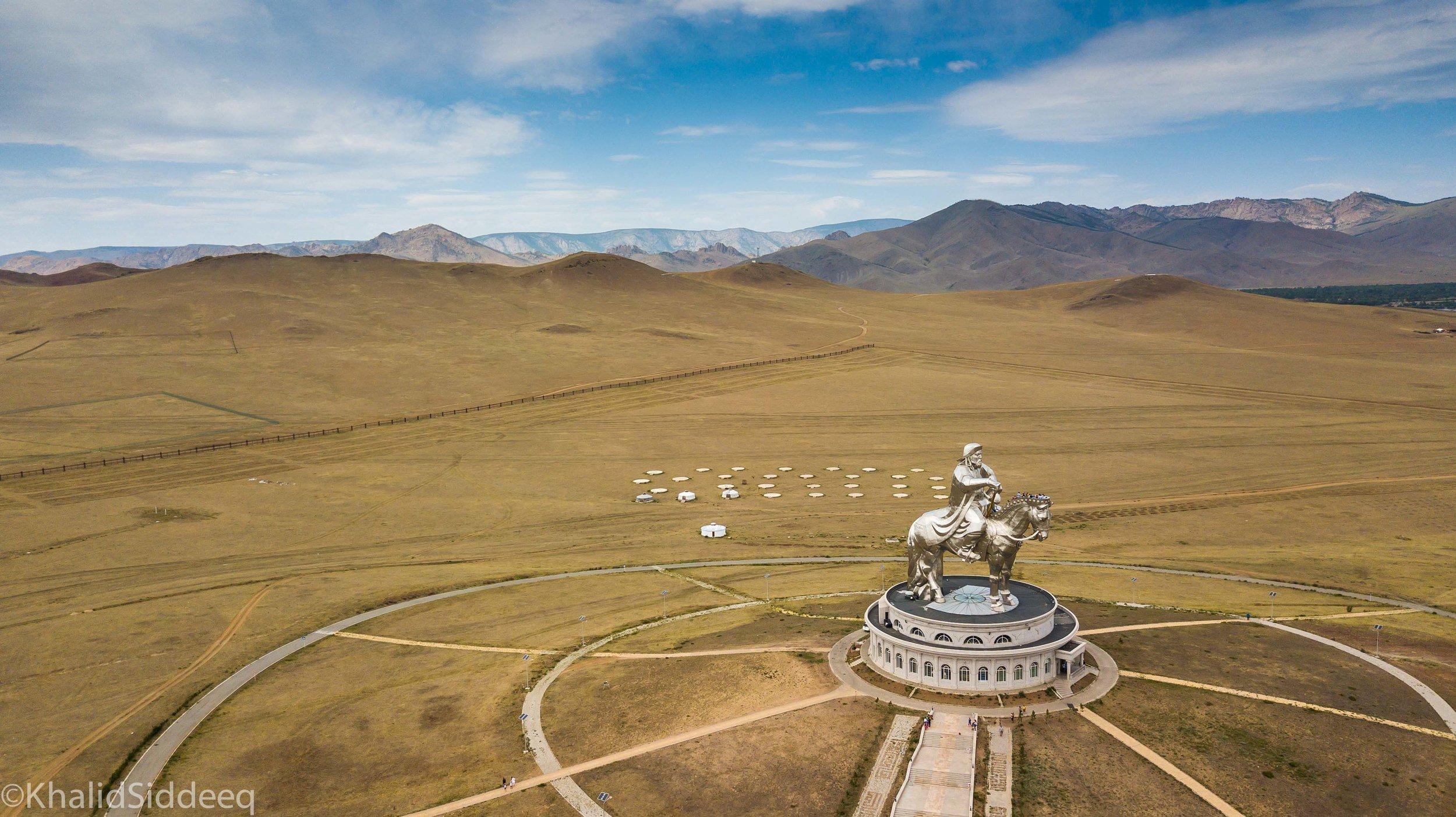 جنكيز خان - منغوليا