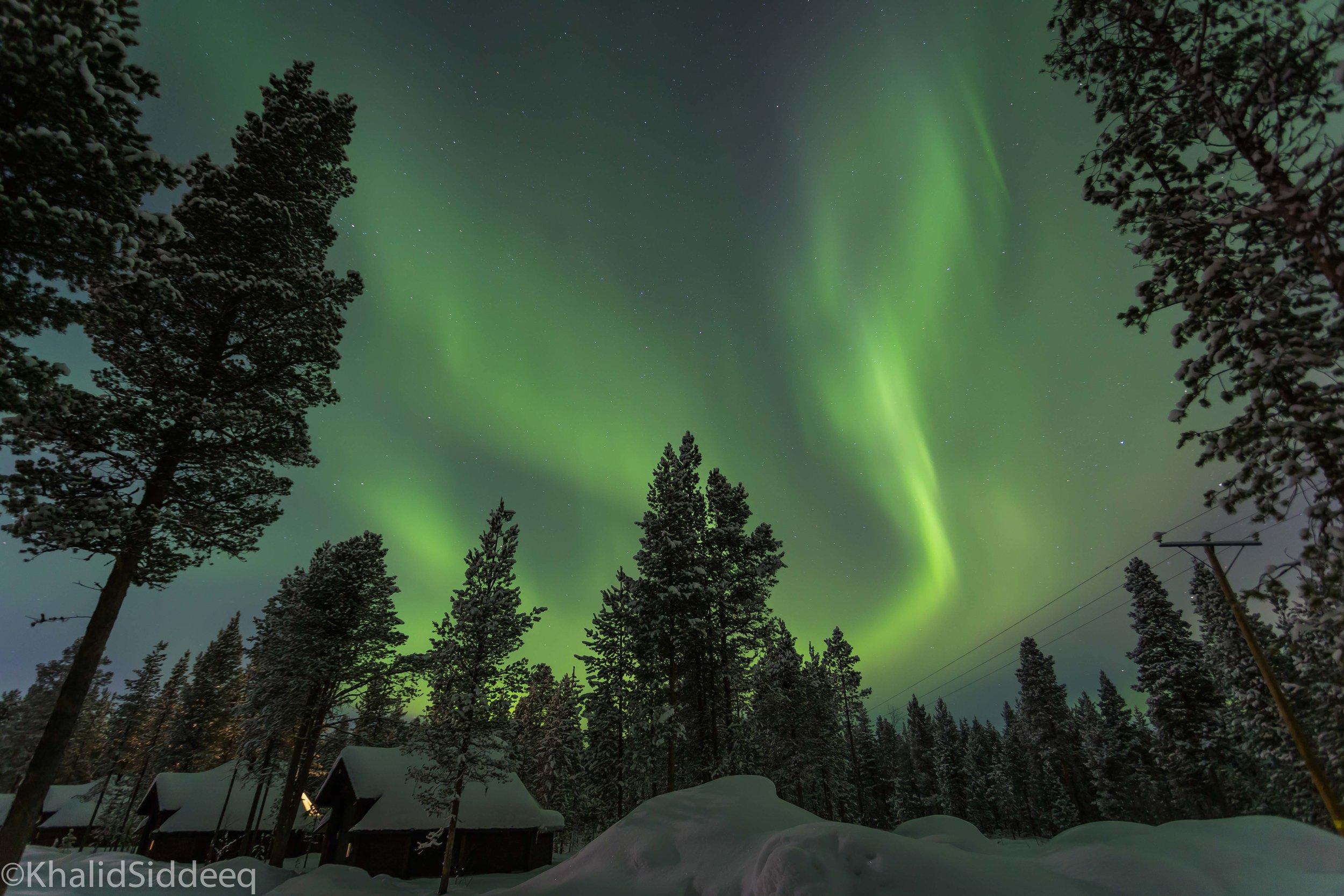 الشفق القطبي، فنلندا