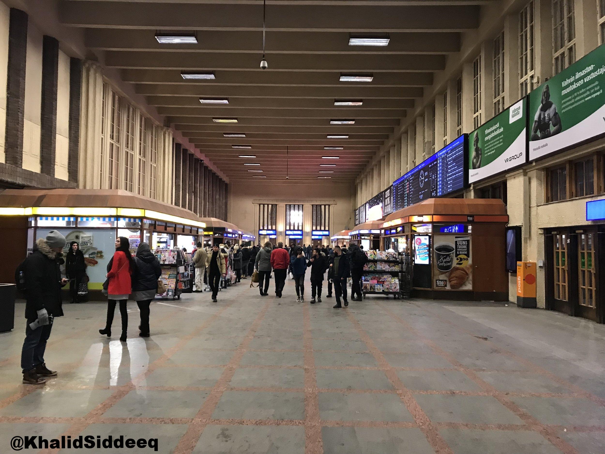 محطة قطارات هلسنكي