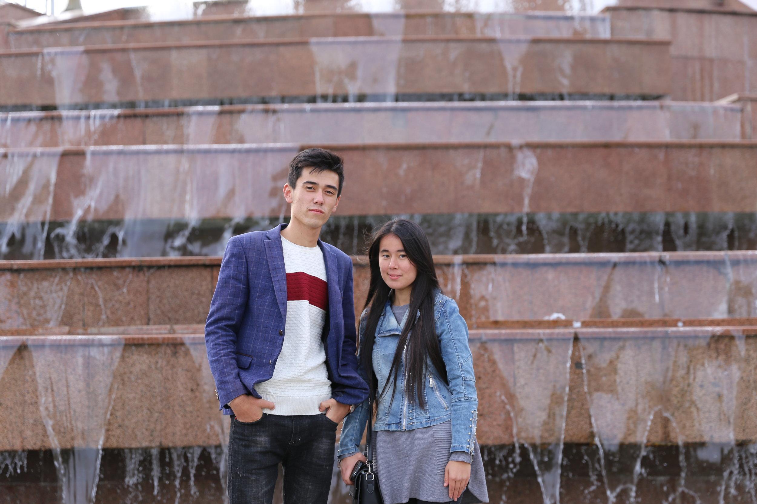 سيد ونازوكات، أصدقاء من أوزباكستان
