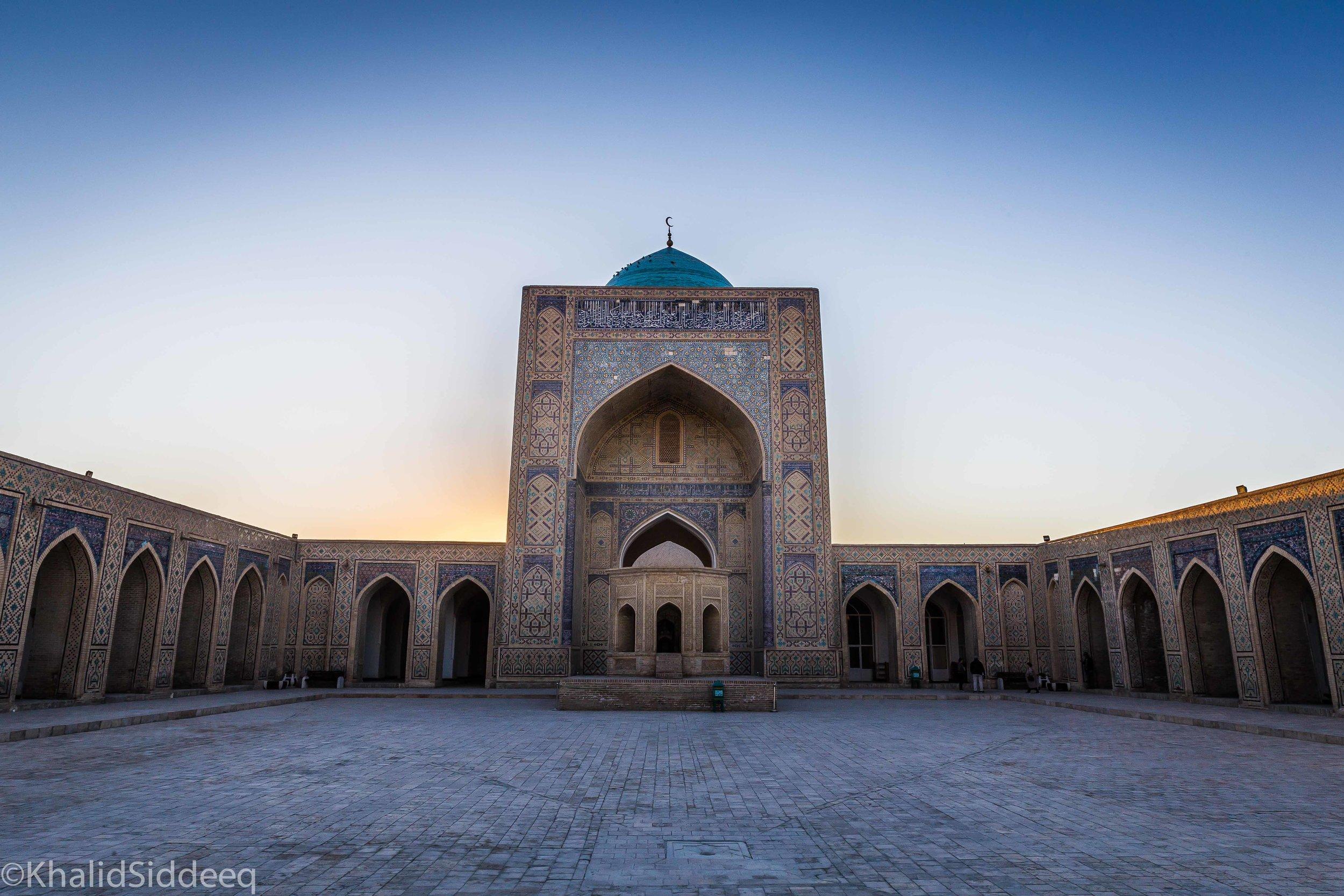 مسجد كلان، بخارى، أوزباكستان