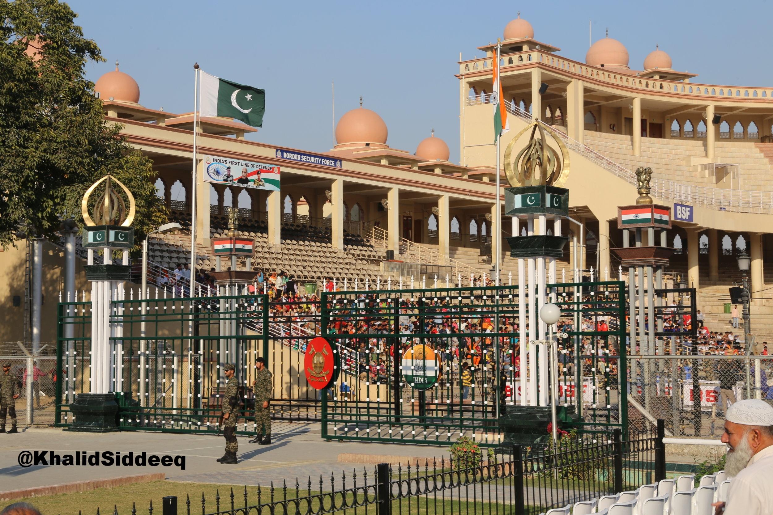 النقطة الحدودية بين باكستان والهند - شاهدة على كثير من الأحداث التاريخية