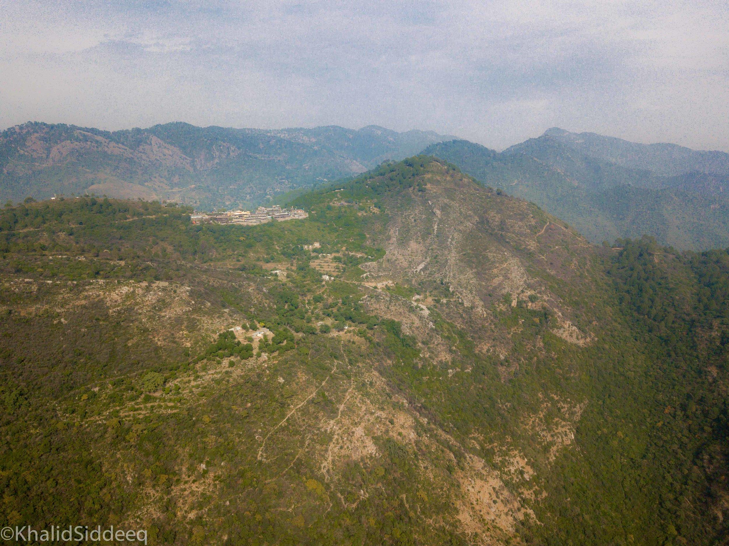 الطبيعة الخلابة - كما تبدو بين جبال إسلام أباد