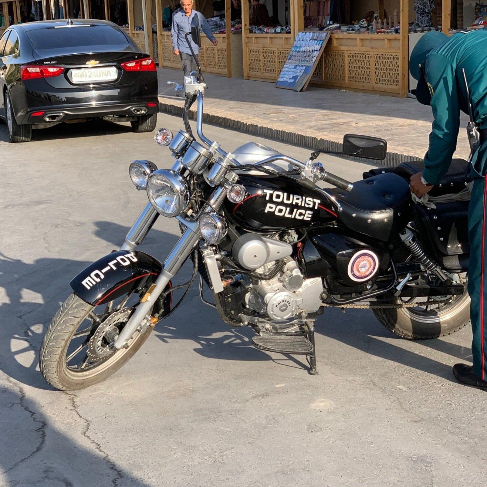 الشرطة السياحية - منتشرة بشكل واضح على الدراجات النارية