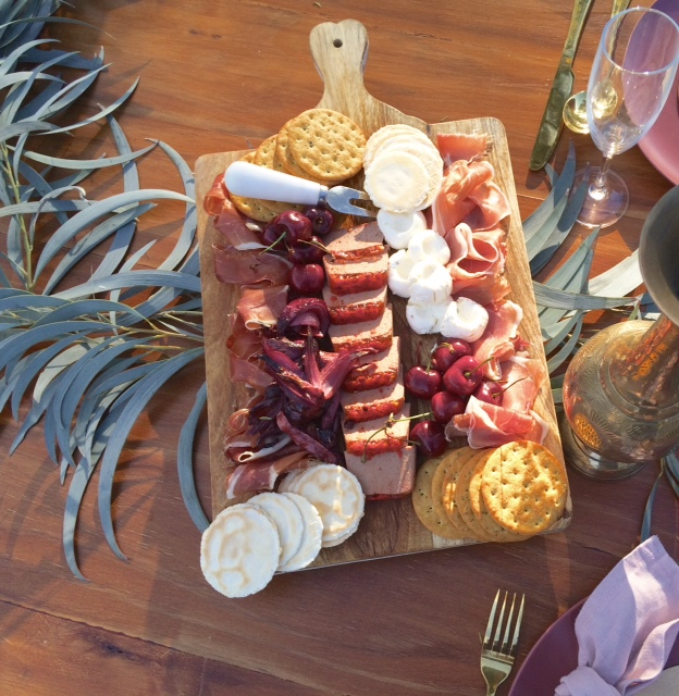 grazing boards, wedding bar