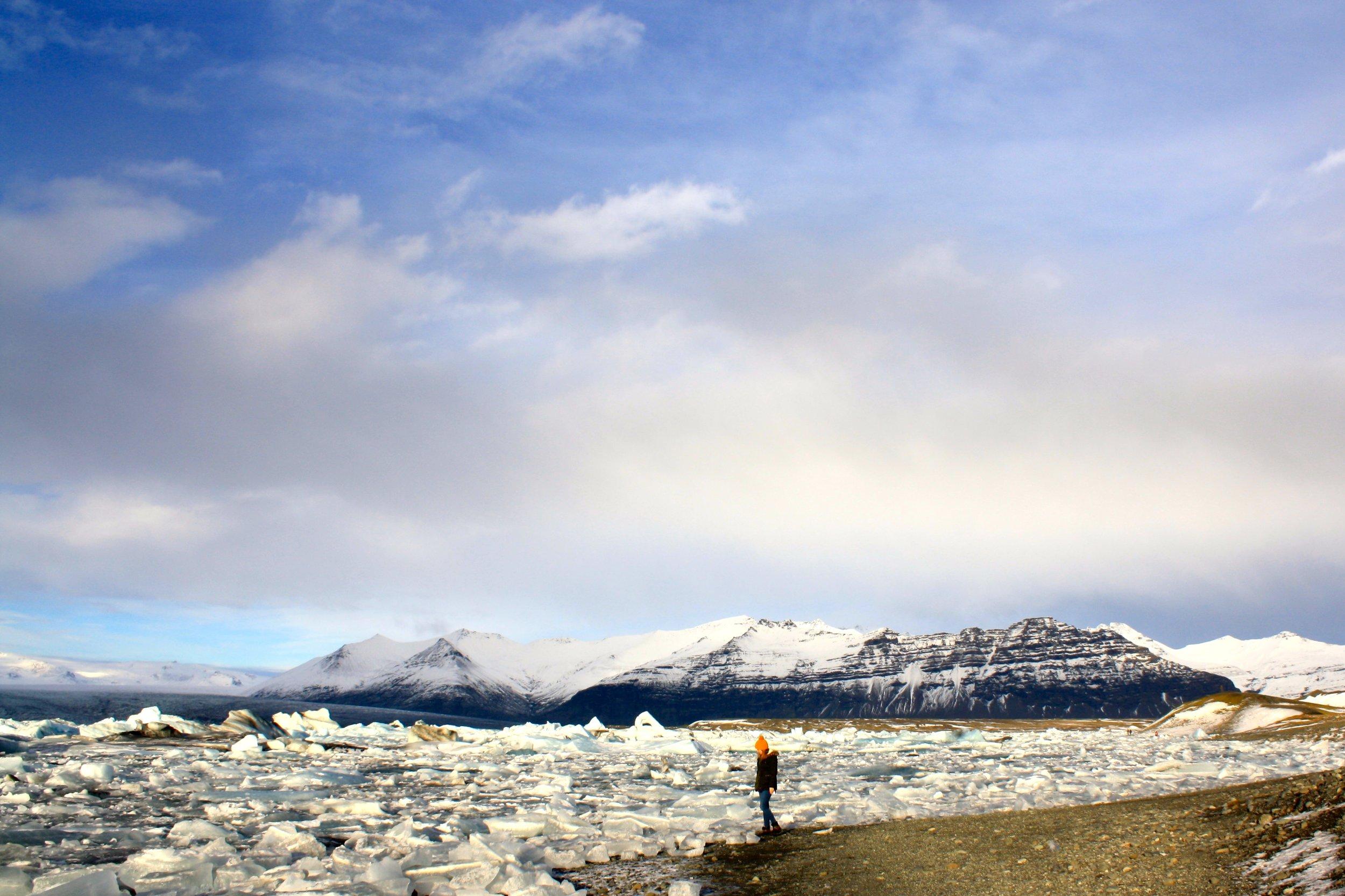 Guide to reykjavik glacier