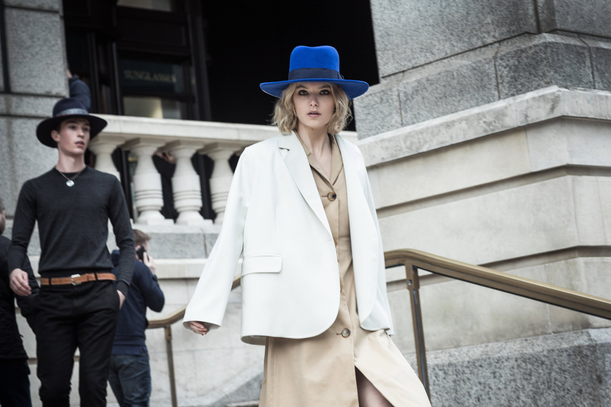 Mason hat from womens Spring/Summer 19 collection.