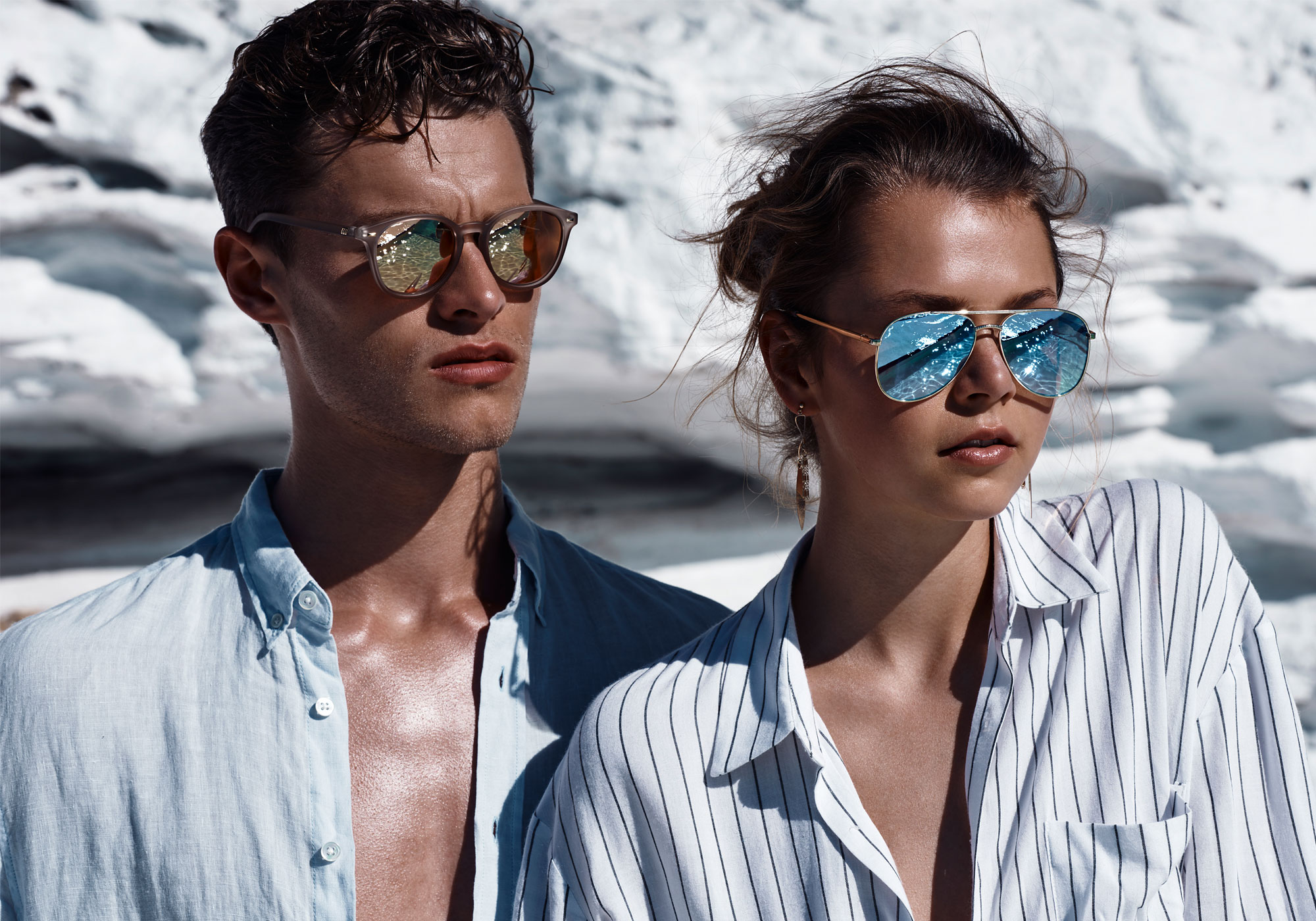 LE SPECS - Since 1979, Le Specs has become renowned globally for its iconic, Euro chic and innovative sunglasses collections at an affordable price. Incorporating a core selection of the original silhouettes, the brand was reimagined and relaunched in 2006 by Australian-owned Sunshades Eyewear.With a reputation as the ultimate summer accessory, Le Specs developed an international cult following and has become a true trendsetter in the global fashion market, spotted on celebrities including Olivia Palermo, Kate Moss, Lady Gaga, Gigi Hadid, Bella Hadid, Khloe Kardashian, Rihanna, Beyoncé and so on.