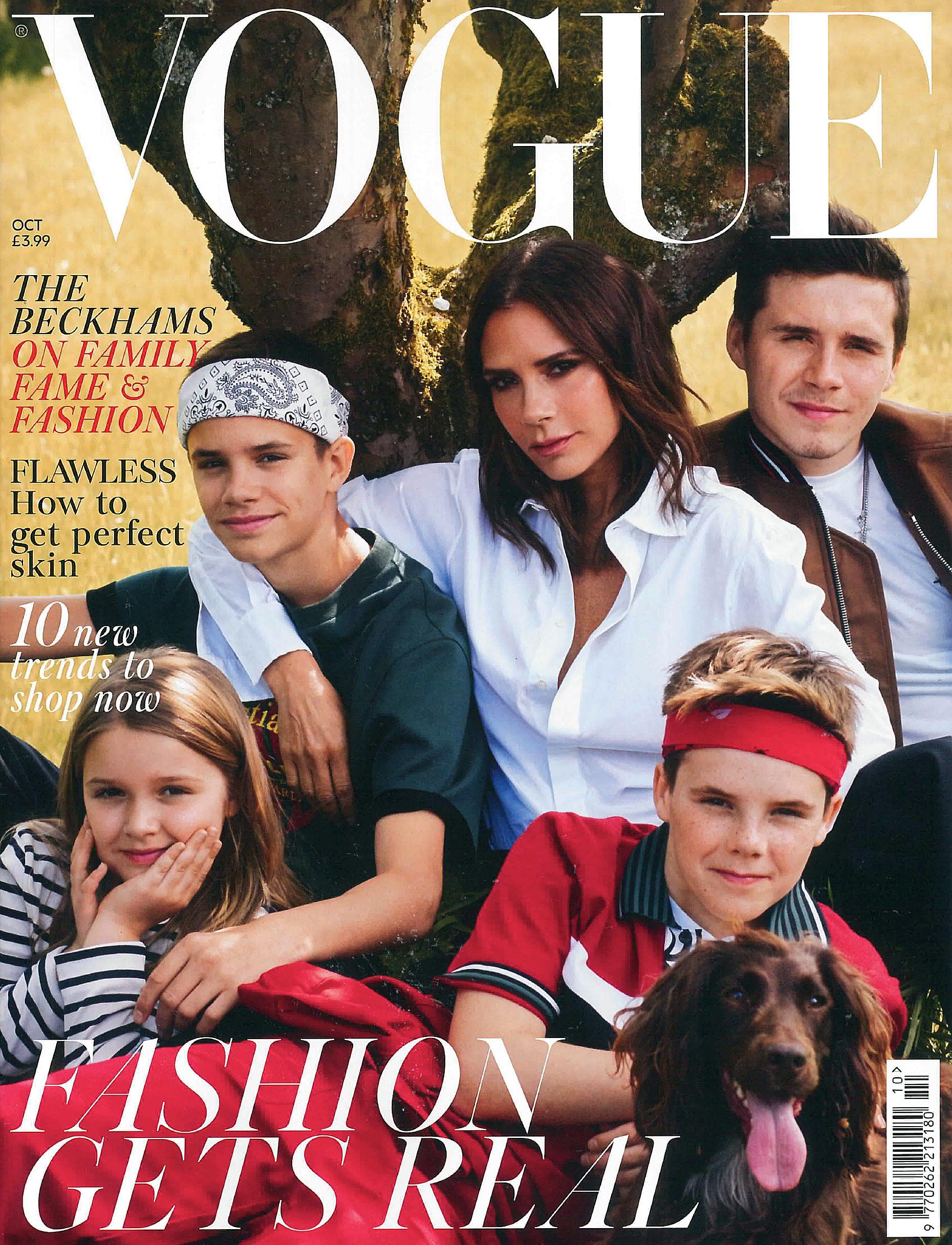 IMWIM British Vogue Oct Issue Designer Profile Cover