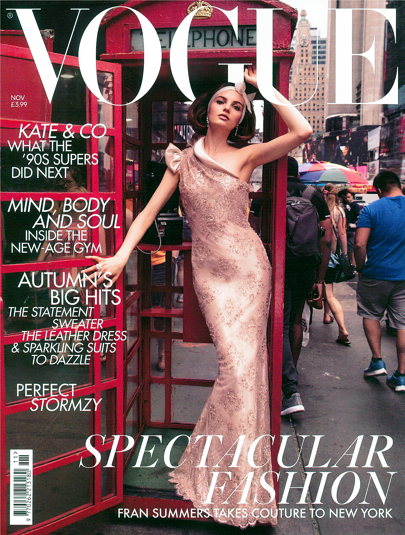 IMWIM British Vogue Nov Issue Designer Profile Cover