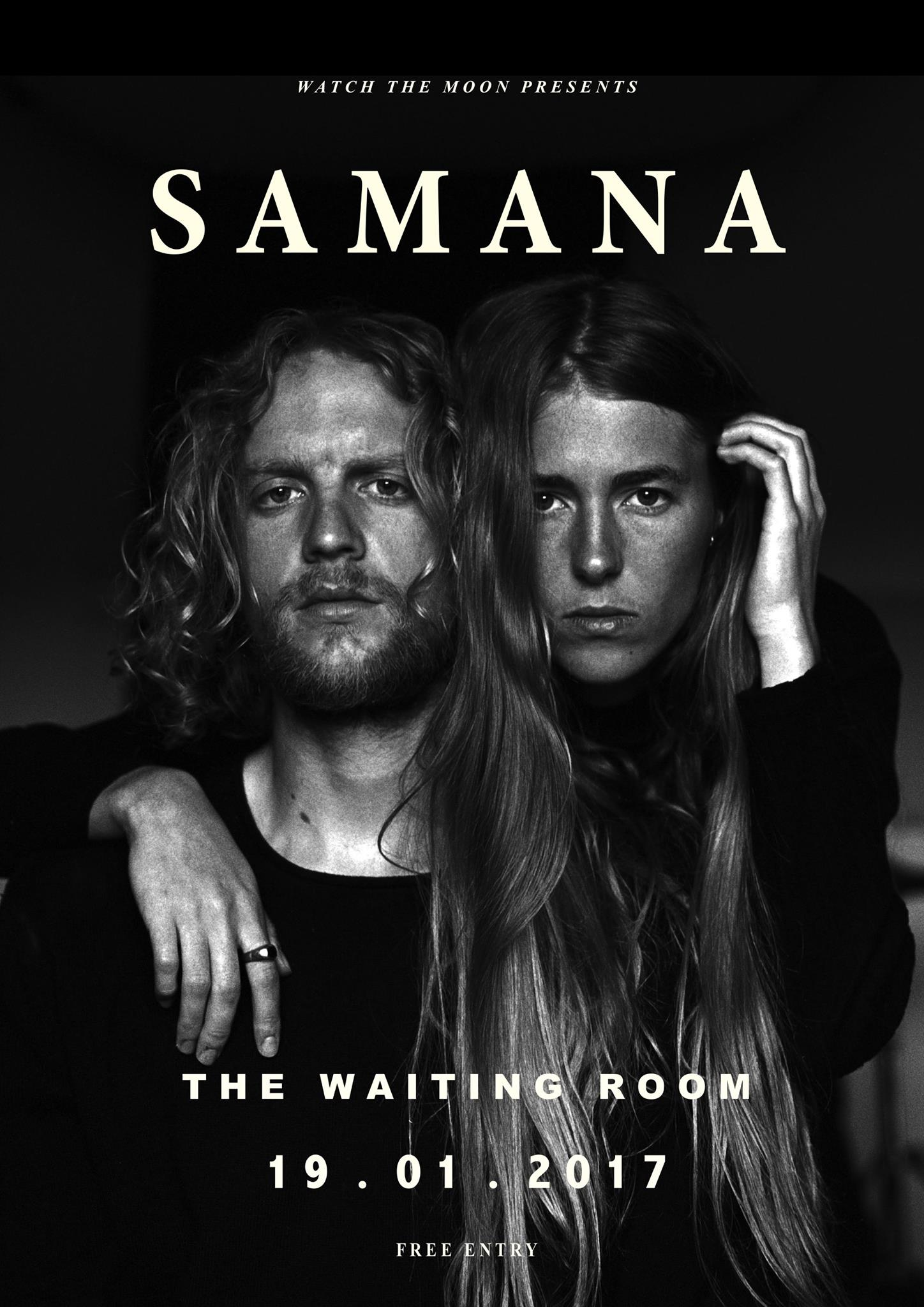 Samana Poster - Watch The Moon