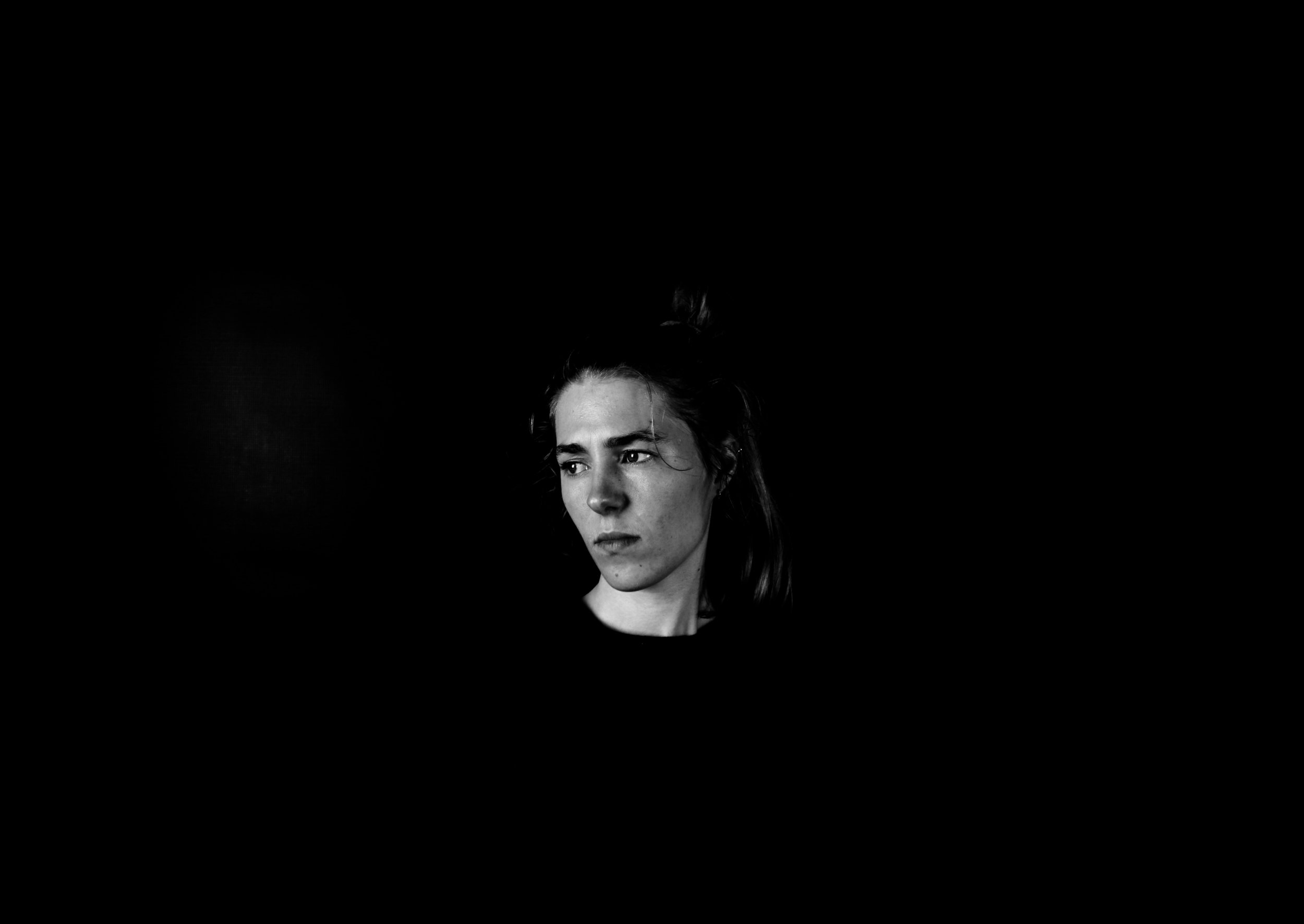 Samana, Photography, Rebecca Rose Harris Portrait - Black and White