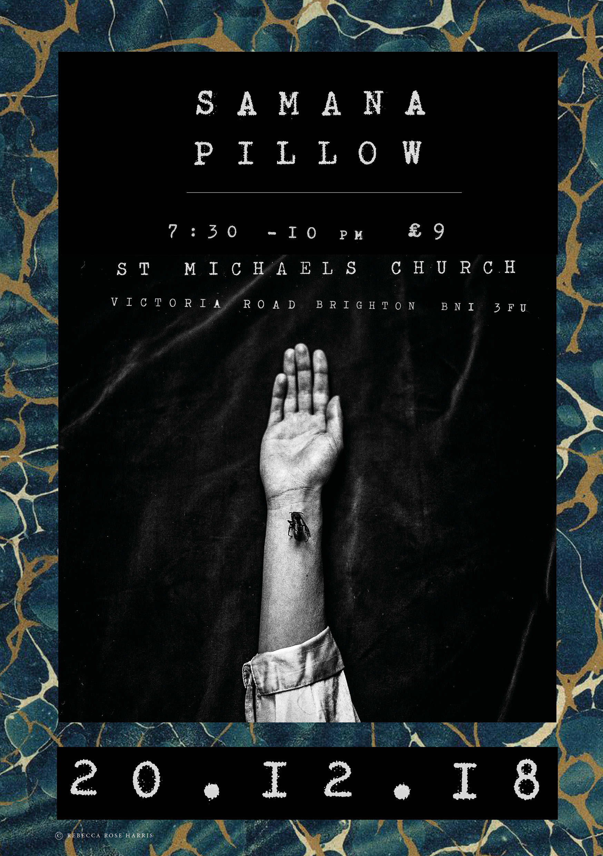 Samana + Pillow Live 20th December, Samana Live gig, Samana Live, Samana concert