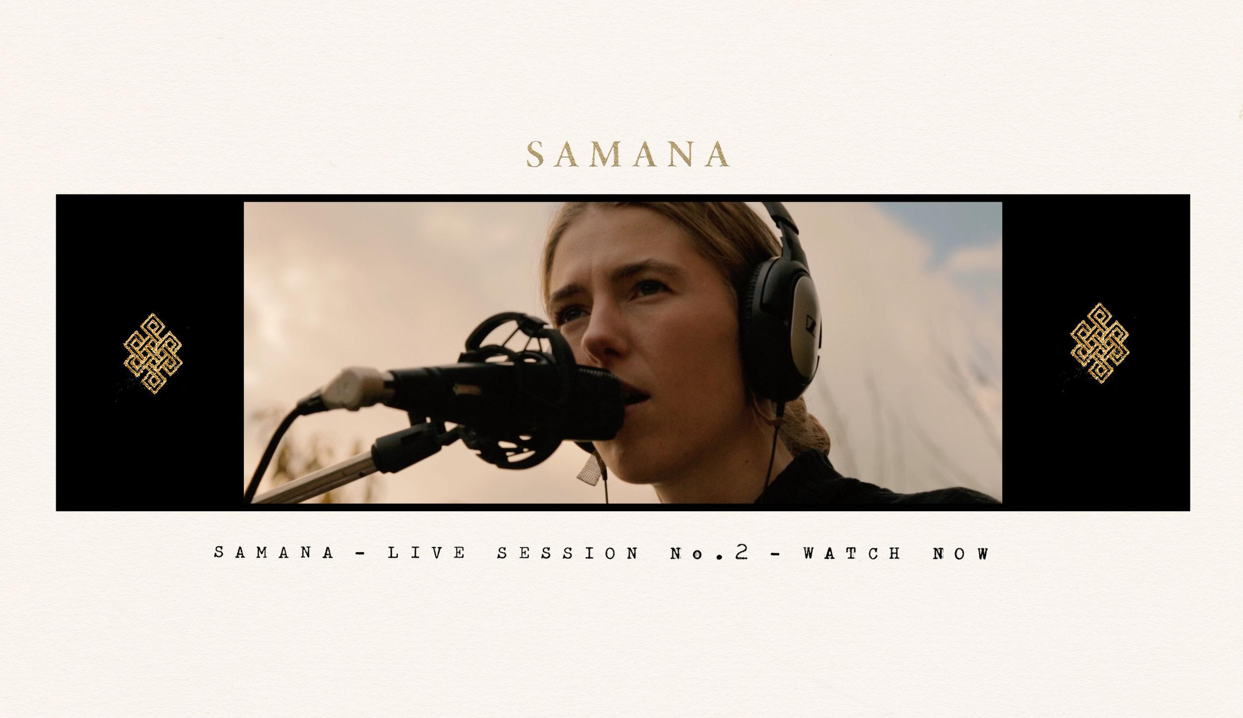 Samana, Samana live, Samana band, Samana music, Samana Live Session No.2