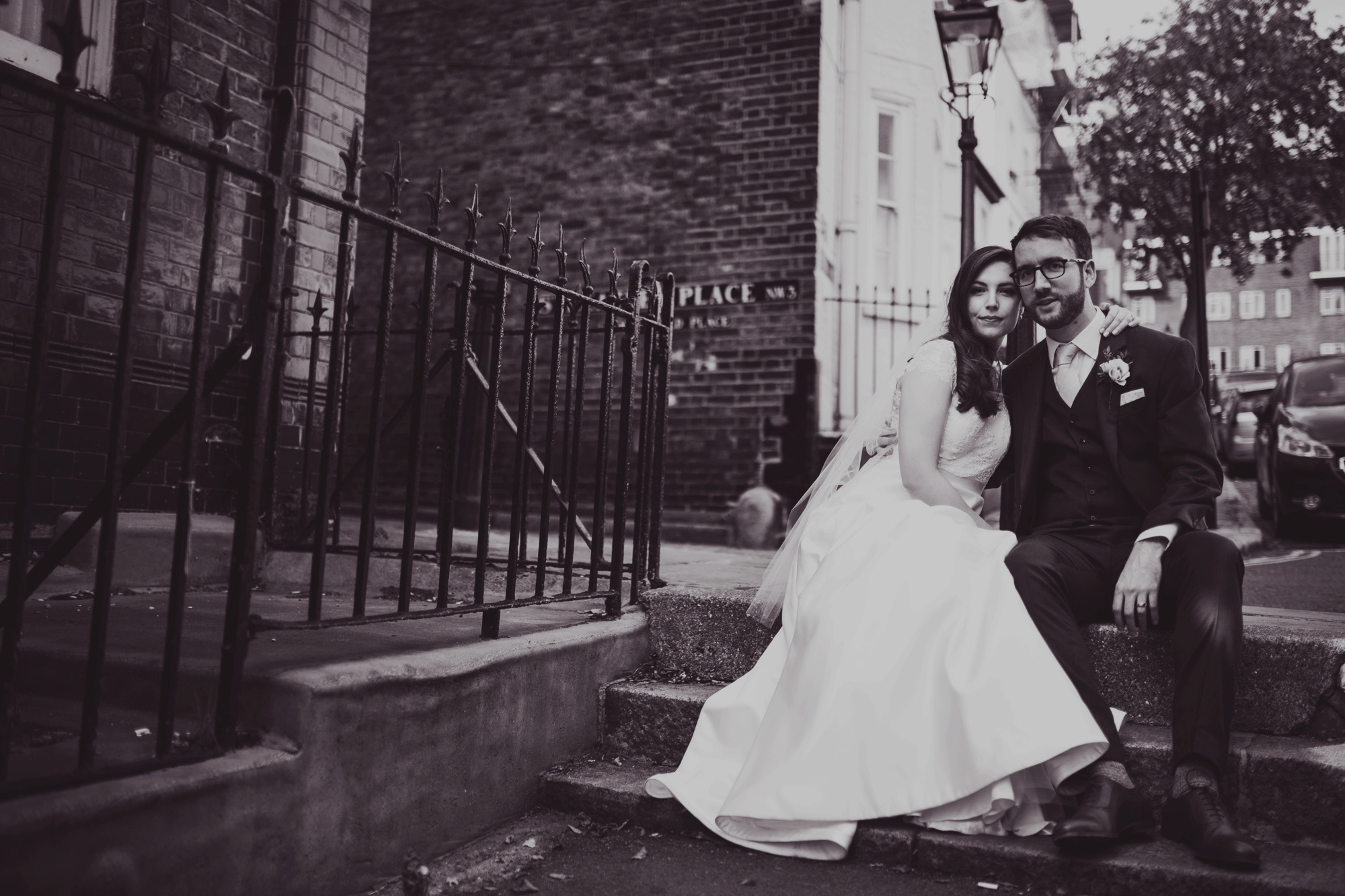 Amelia + Steve // Chiswell Street Dining Rooms EC1