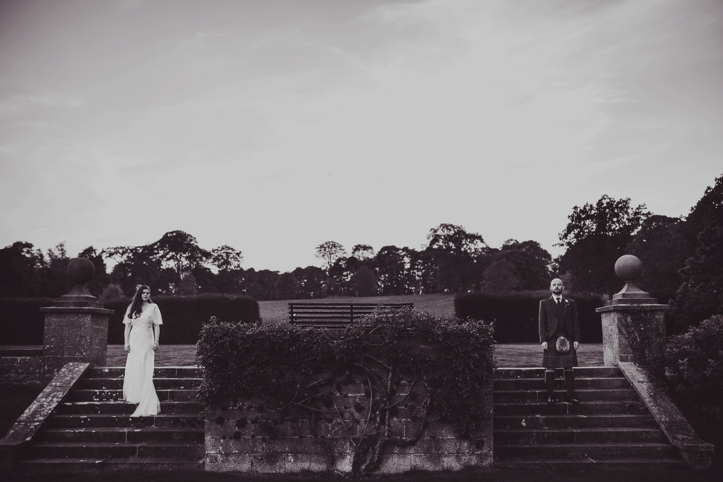 Nat + Mark / Tissington Hall