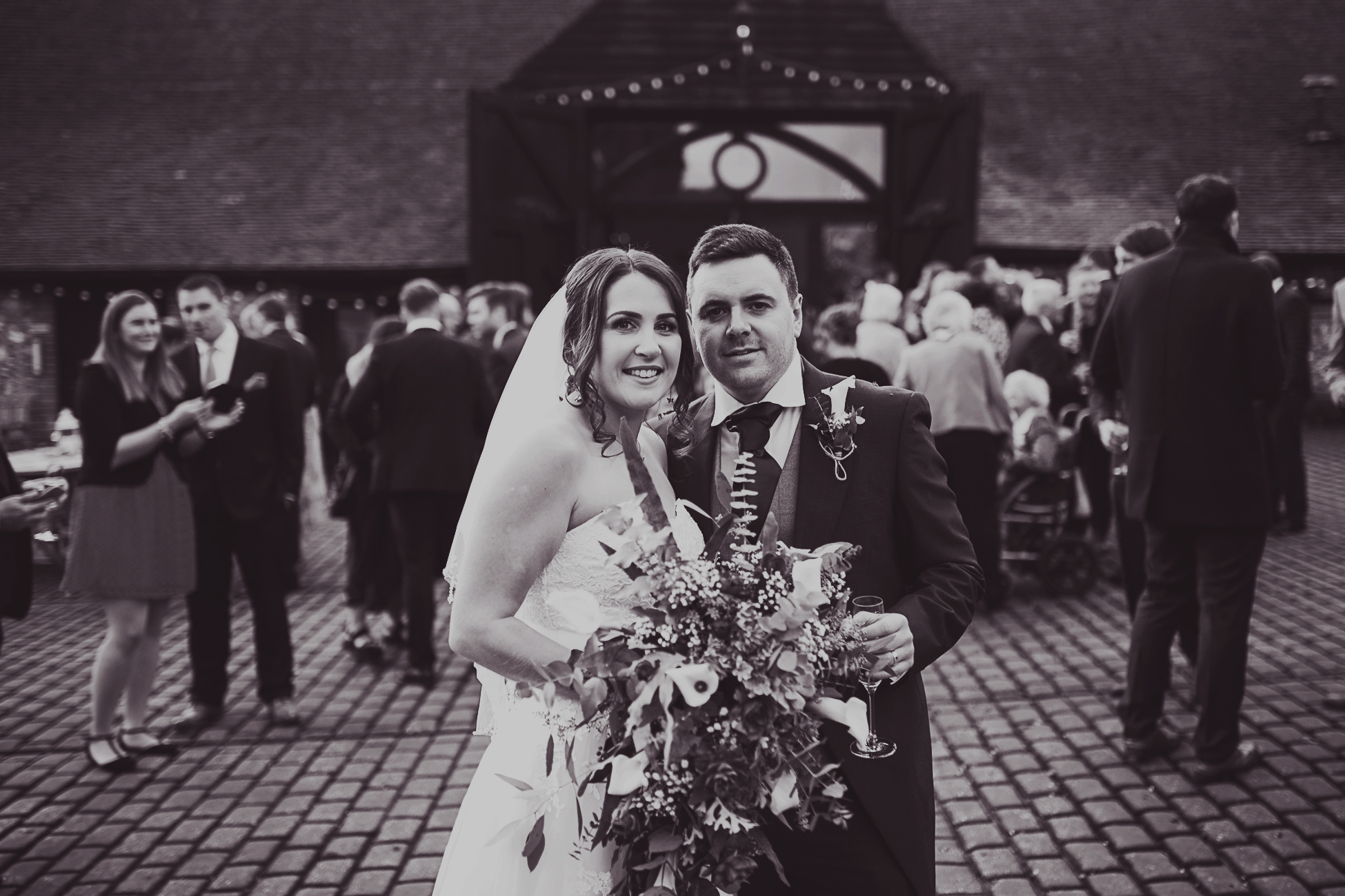 Claire + Ant / Old Luxter's Barn