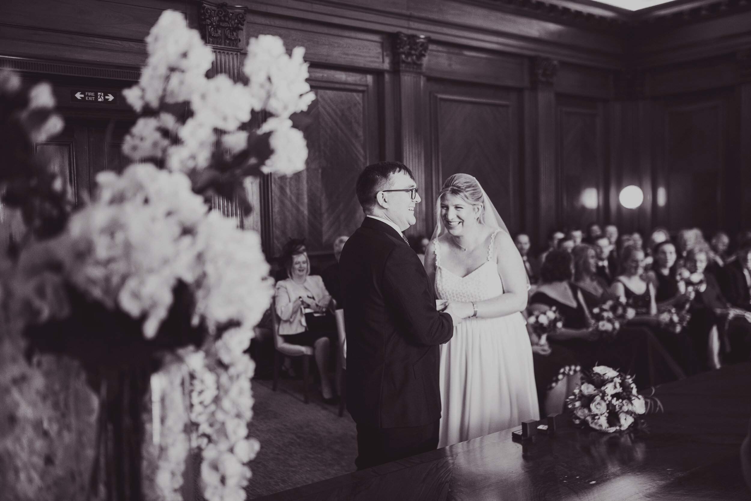 Katie + Timothy // Old Marylebone Town Hall