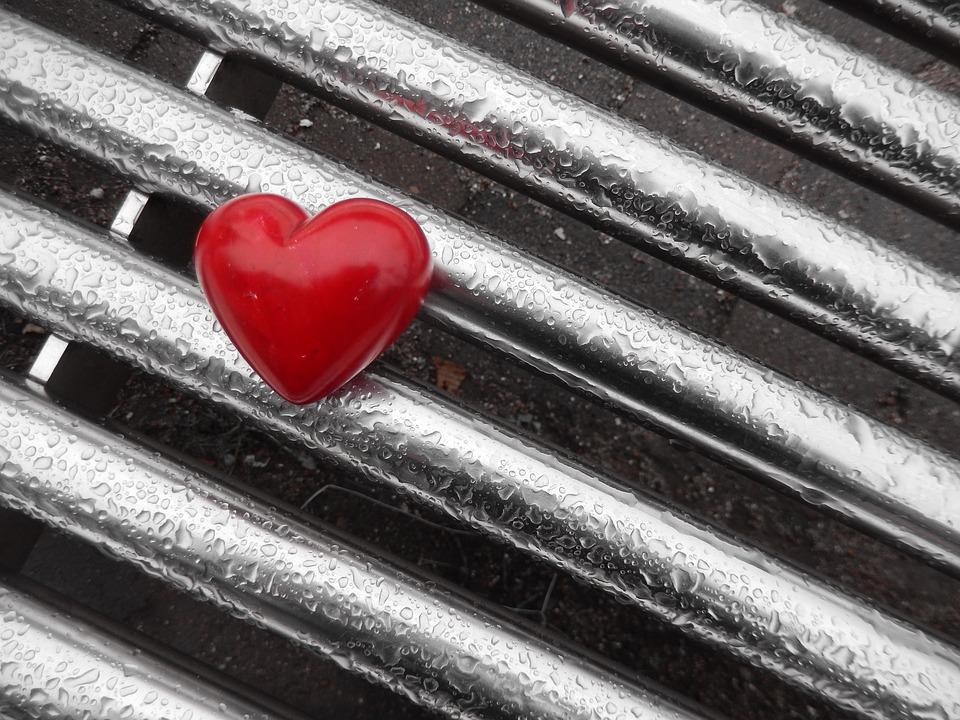 Wenn das Herz in der Kälte liegen gelassen wird ...