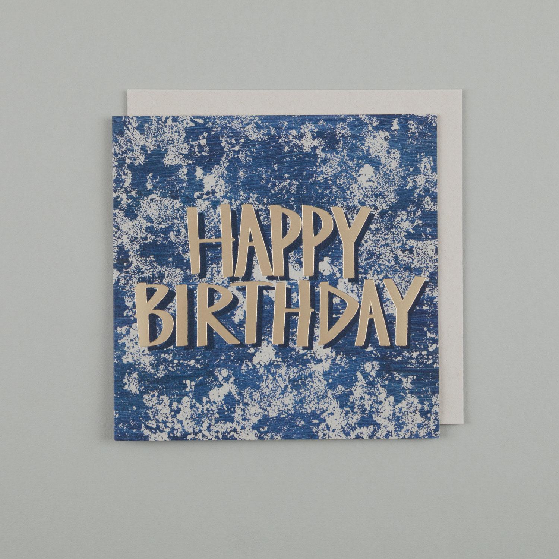 HAPPY BIRTHDAY, LICHEN BLUE