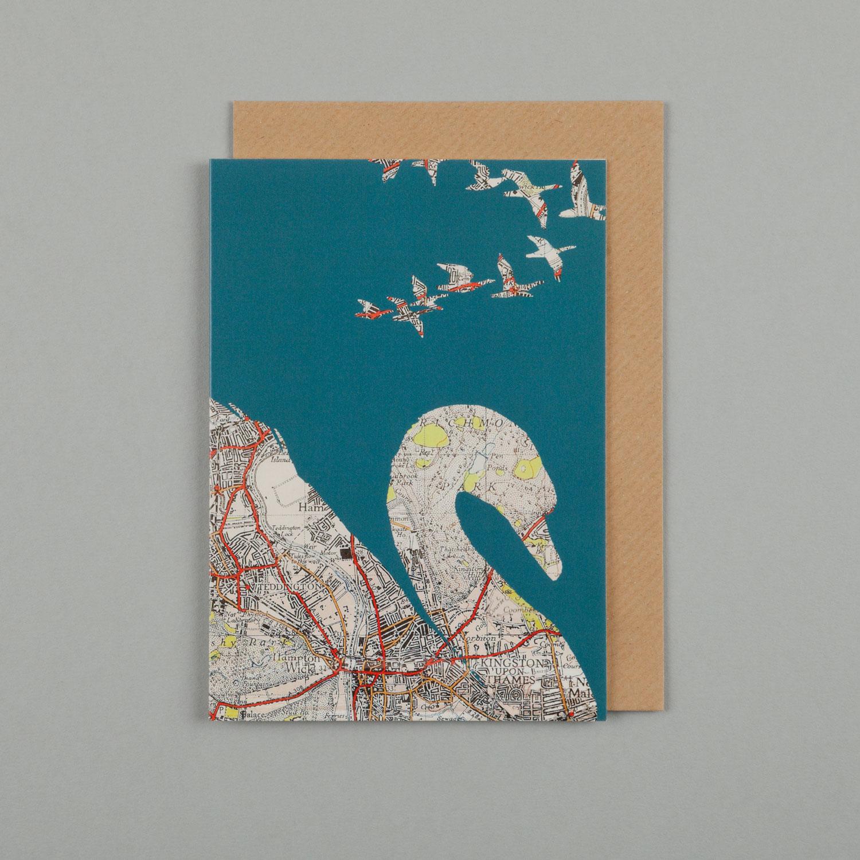 SWANS, SEA BLUE