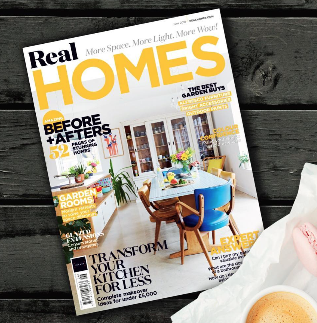 Cover for  Real Homes Magazine  (June 2018)