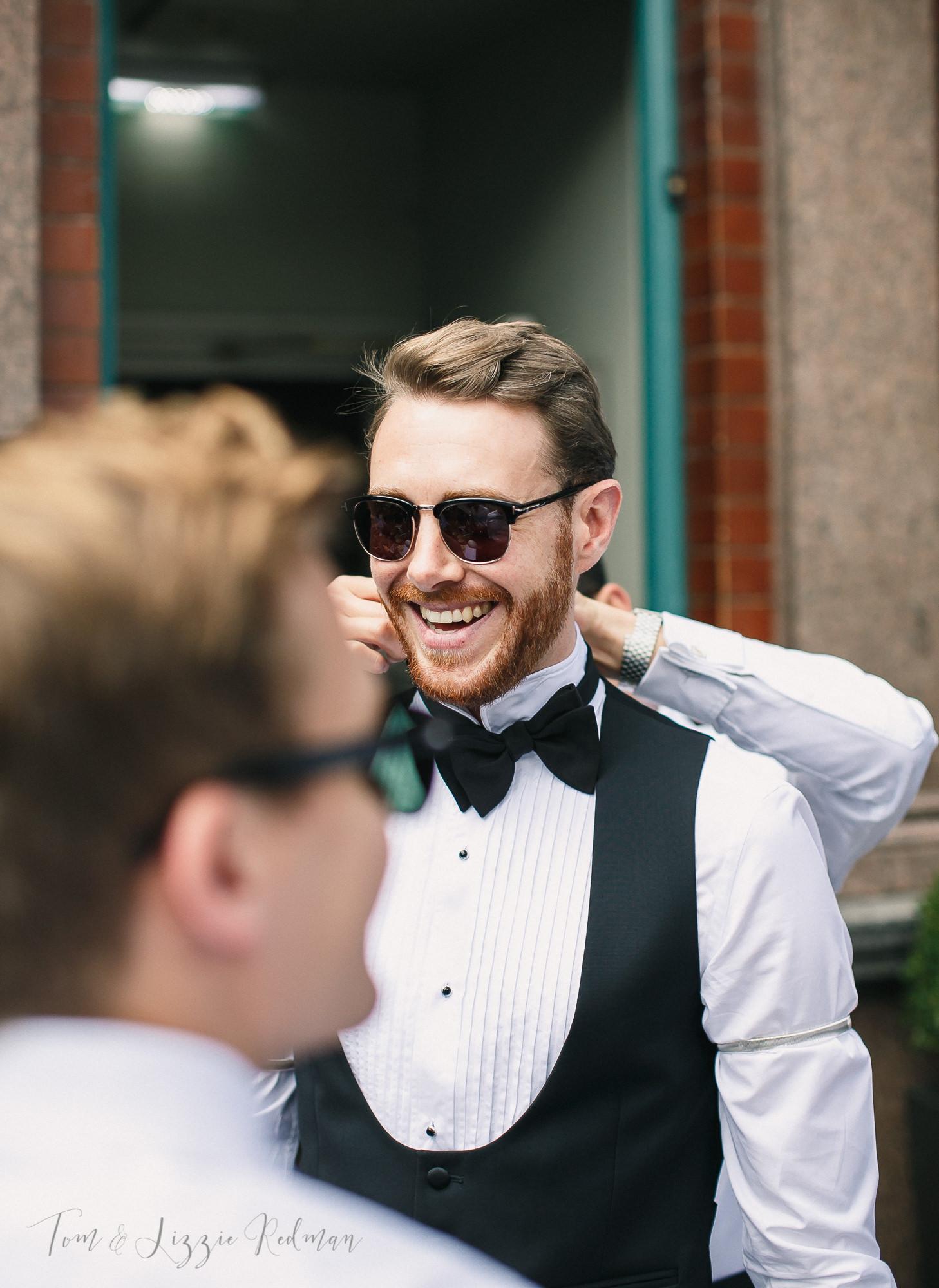 Black Tie wedding London