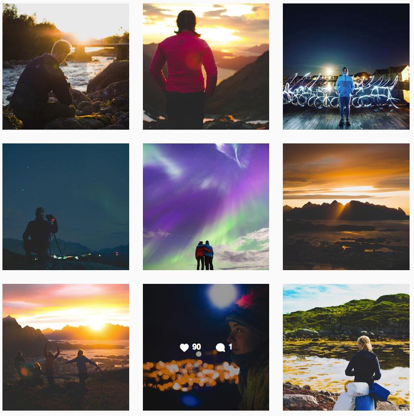 Collage: Lofoten folkehøgskole