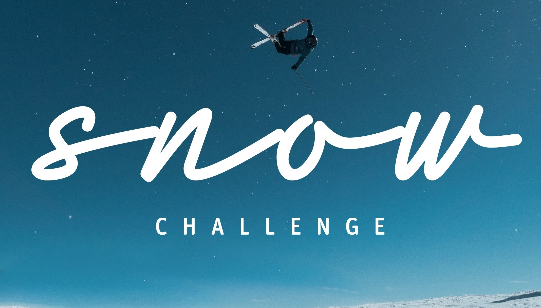 SnowCHALLENGE   A group of wintersports lovers take a 30 day personal change experiment related to snow and climate.