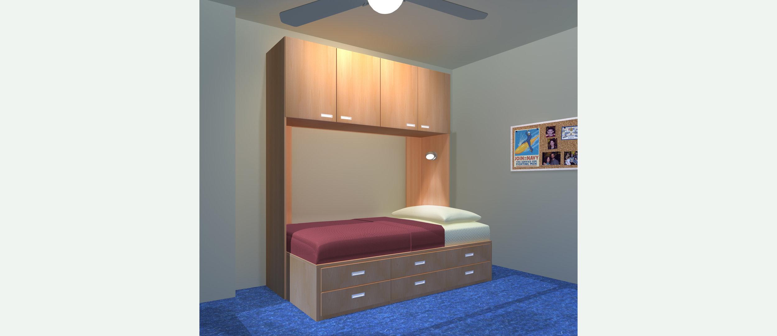 1026B, Captains Bed.jpg