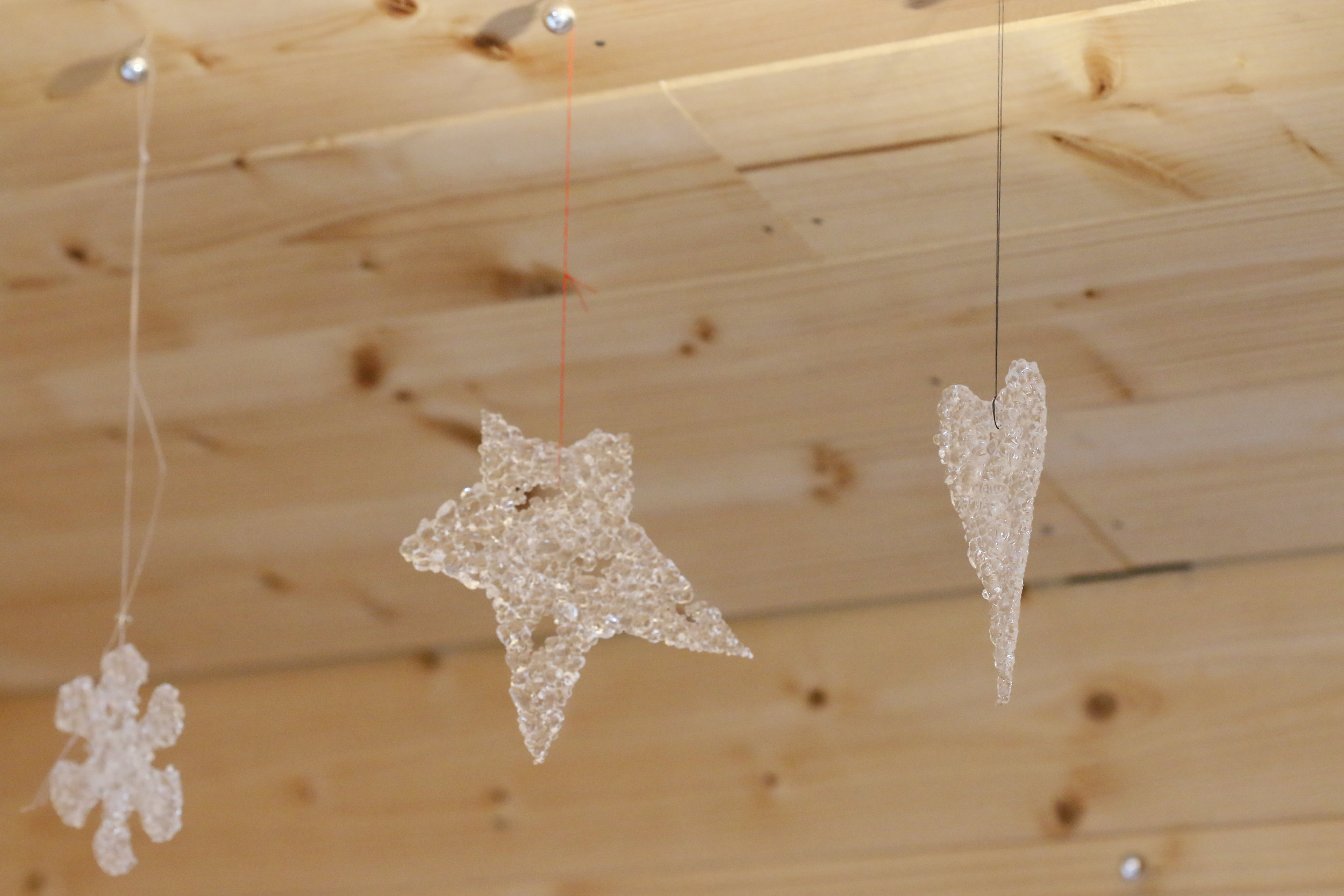 Mere Glass Christmas Decorations