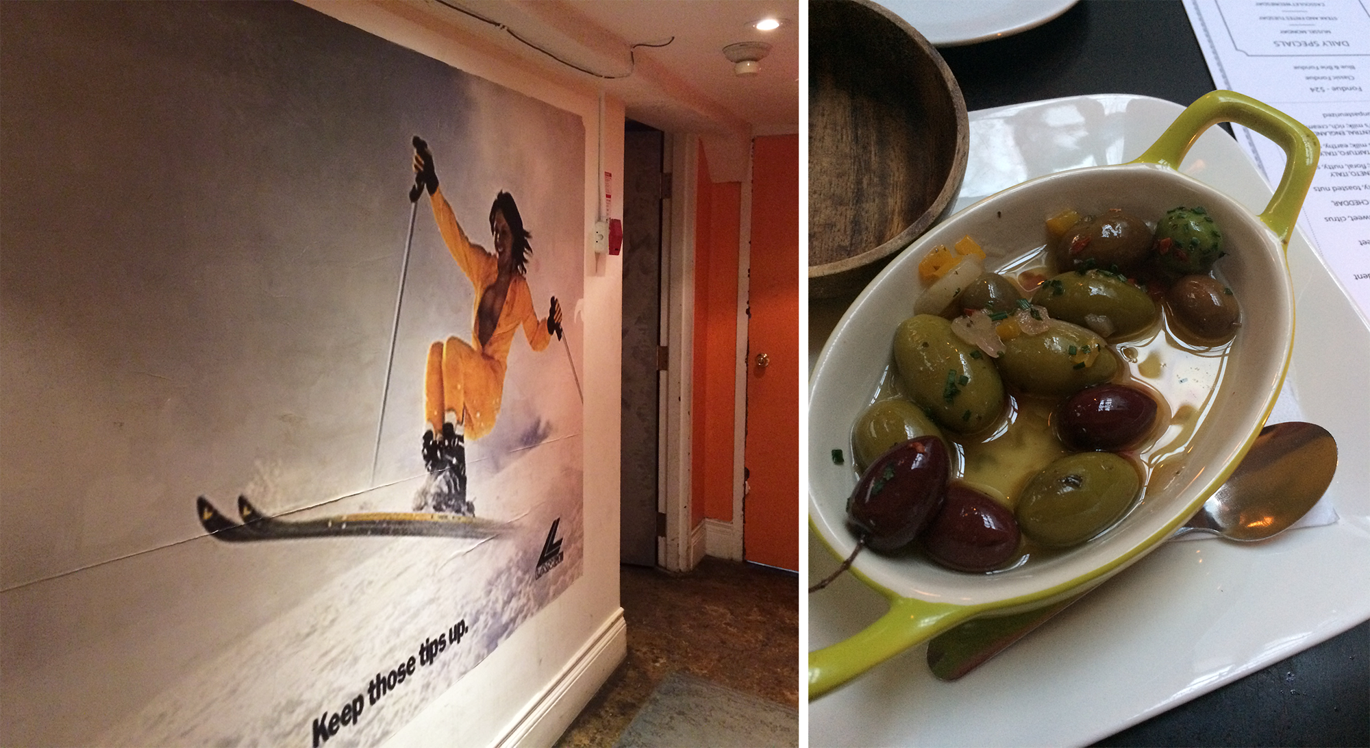 Carens Skier Decor Warm Olives