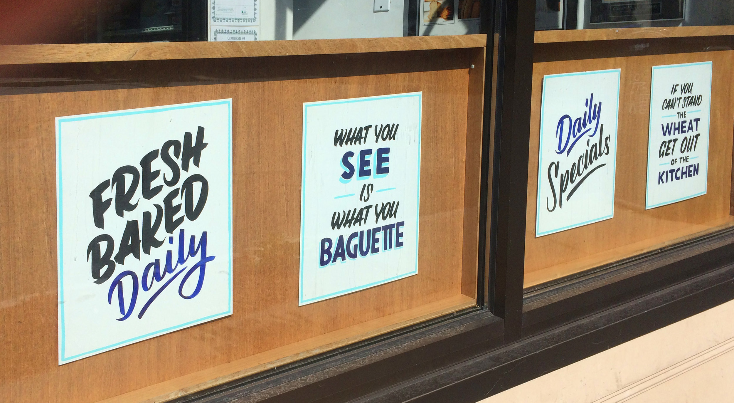 Clear Flour Bakery - Posters
