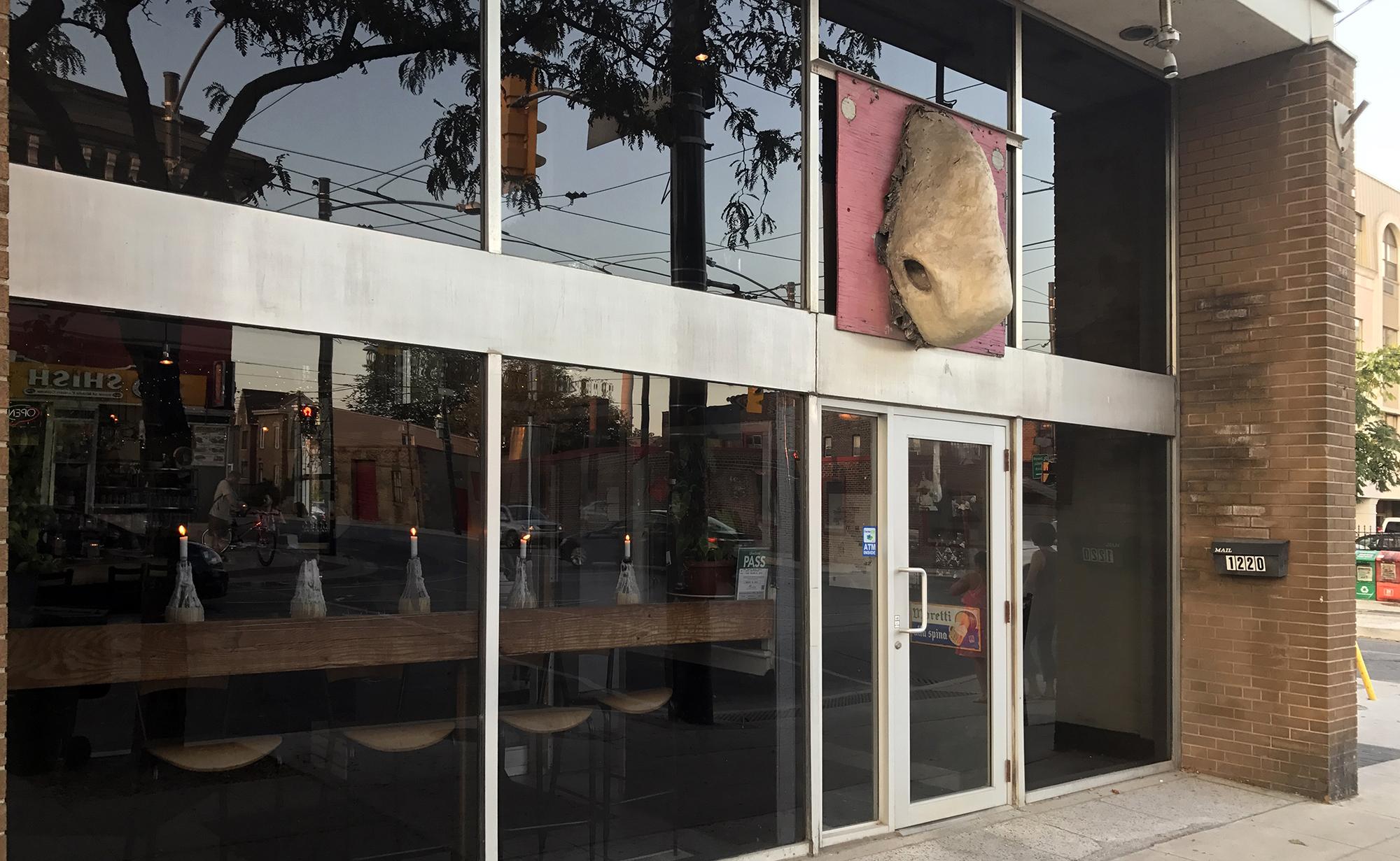 Gio Rana's - Exterior Sign - Nose