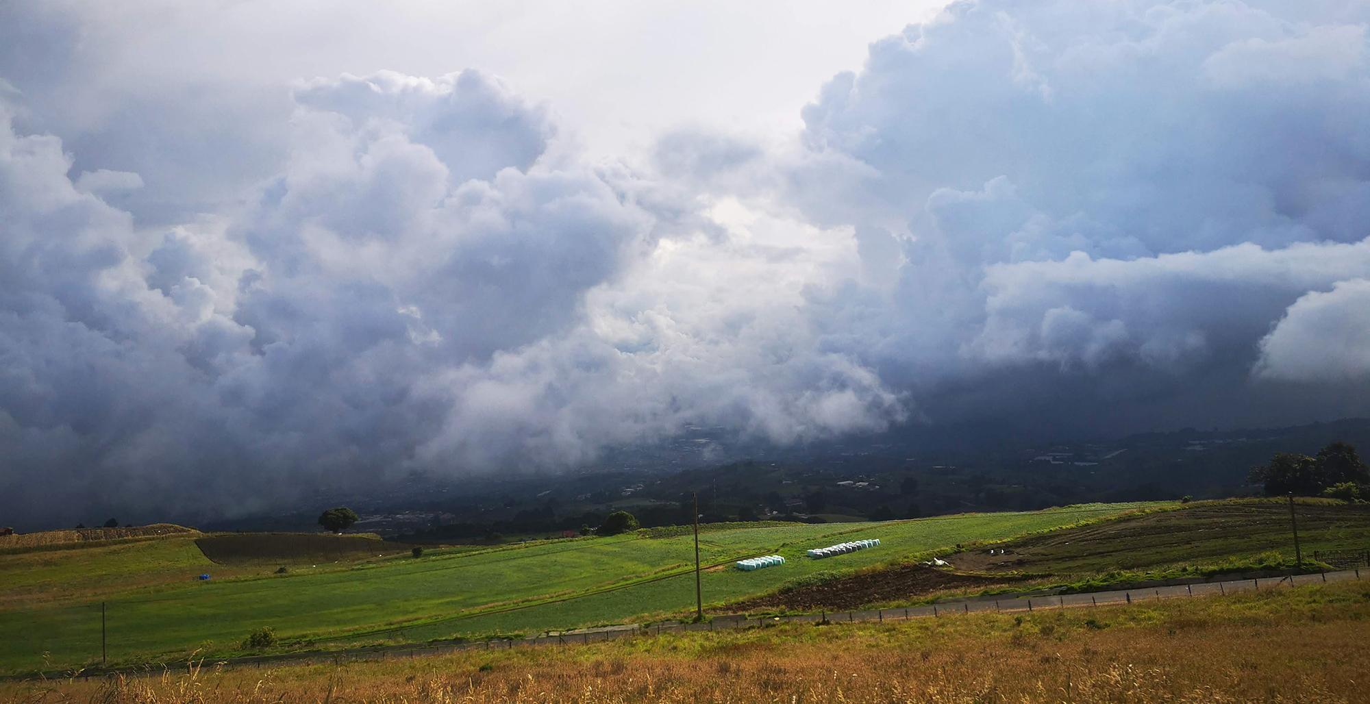 Irazu Experience View RIde Down Storm