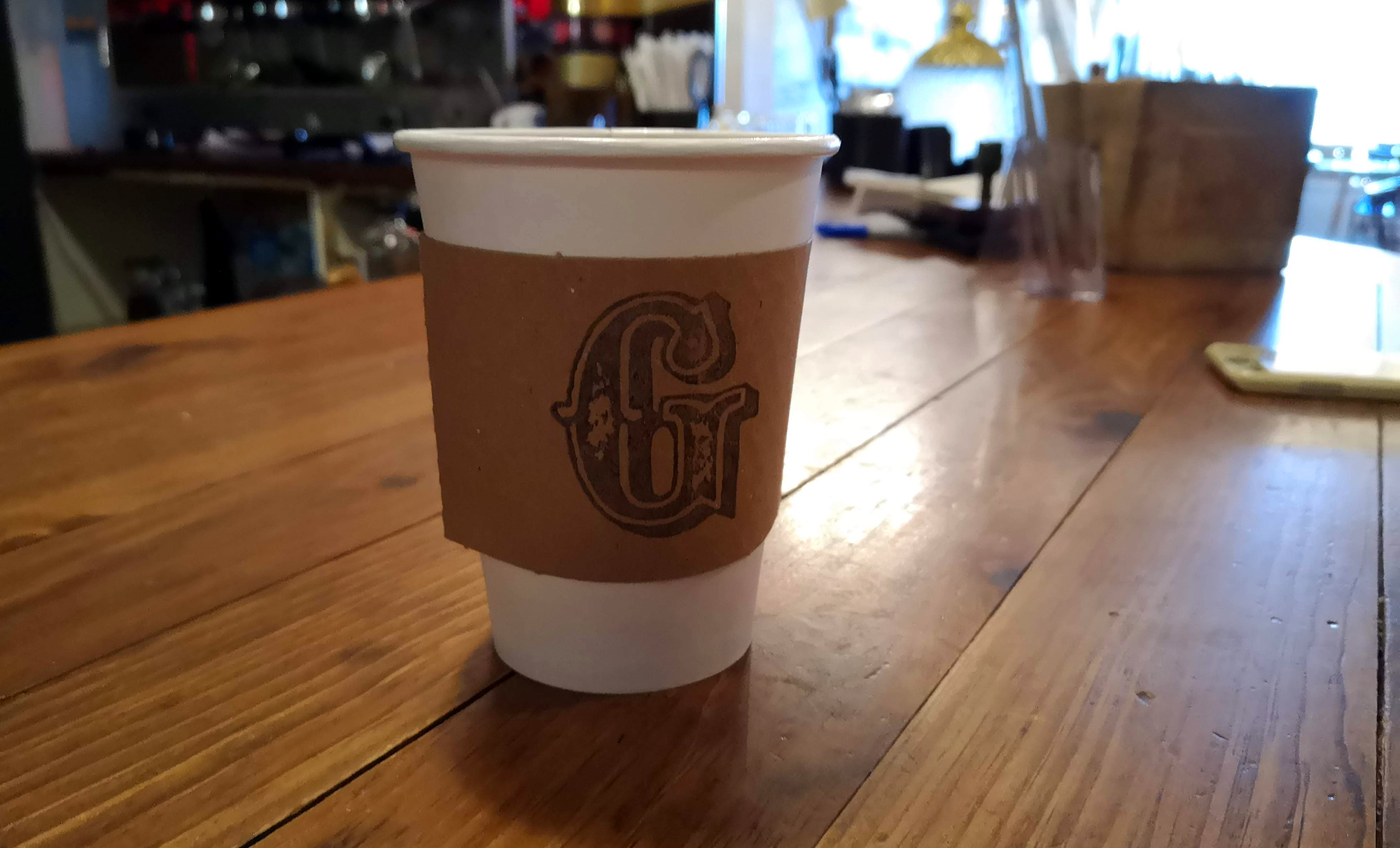 Geronimo Cafe - Coffee Mocha