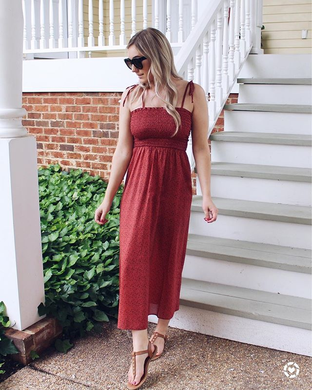 Fun fact: I have never worn a dress to just go out. It's always been for a wedding or special event, I'm just a jeans girl at heart! 💗 BUT I think this dress has totally changed my mind 😍 I'm now on a hunt for ALL the dresses!!// LINK in BIO to Shop! Screenshot to shop this pic with the LIKEtoKNOW.it app http://liketk.it/2vWPk #liketkit @liketoknow.it #LTKunder100 #LTKstyletip  #rvablogger #fashionfiles #ootdfashion #womensfashion #womensstyle #fashionstatement #pursuepretty #flashesofdelight #nordstrom #topshop #styleinfluencer #outfitsociety #outfitinspo #casualstyle #americanstyle #myootd #todaysoutfit #fashionistas #theeverygirl #mommystyle #lifestyleblogger #bloggerlove #bloggerstyle #mylookbook #vablogger #styleblogger #fashionblog
