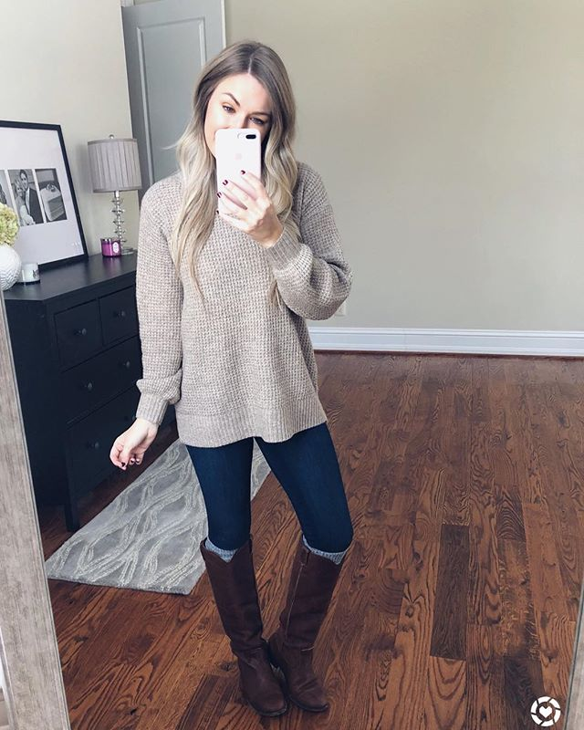 Currently curled up on the couch eating my favorite cookies (see stories), watching Friends (always) and doing some last minute Christmas shopping online 💗  Found this super cozy sweater on sale for under $30! 😍 I love it so much and it's not bulky at all 🙌 Shop your screenshot of this pic with the LIKEtoKNOW.it app  http://liketk.it/2yNA8 #liketkit @liketoknow.it  #LTKsalealert #LTKstyletip #LTKunder50 #LTKunder100 #casualoutfit #winterfashion #winteroutfit #outfitinspo #pursuepretty #bloggerstyle #rvablogger #stylepost #casuallook #mystyle #americanstyle #aexme #mamastyle #aeostyle #todayslook #simplestyle #easystyle #lookoftheday #abercrombie