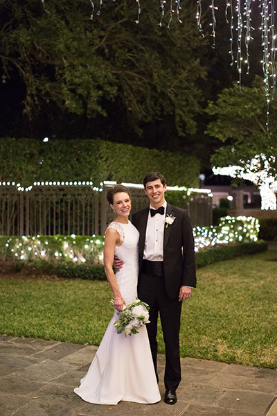 Congratulations to the newlyweds, Nell & Walter. (Photo credit: Leah Wilson Photography)