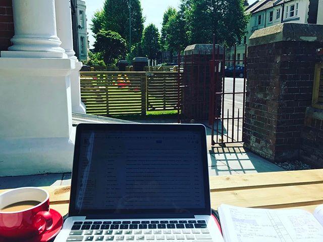 Been a 'work outside week'!
