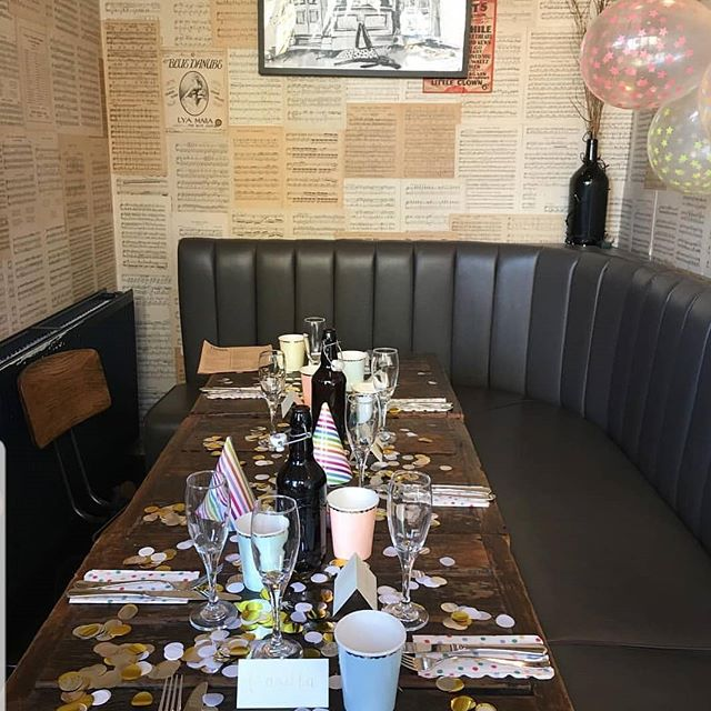 Who's in the party corner this weekend!? 🎉🎈our little nook is prefect for a celebratory get together - get in touch to enquire about availability via our website or social links. . . . #privateroom #privatedininglondon #events #eventslondon #eventspacelondon #partyspace #freehirelondon #birthdayplace #londonpub #setmenu #sw6 #fulham