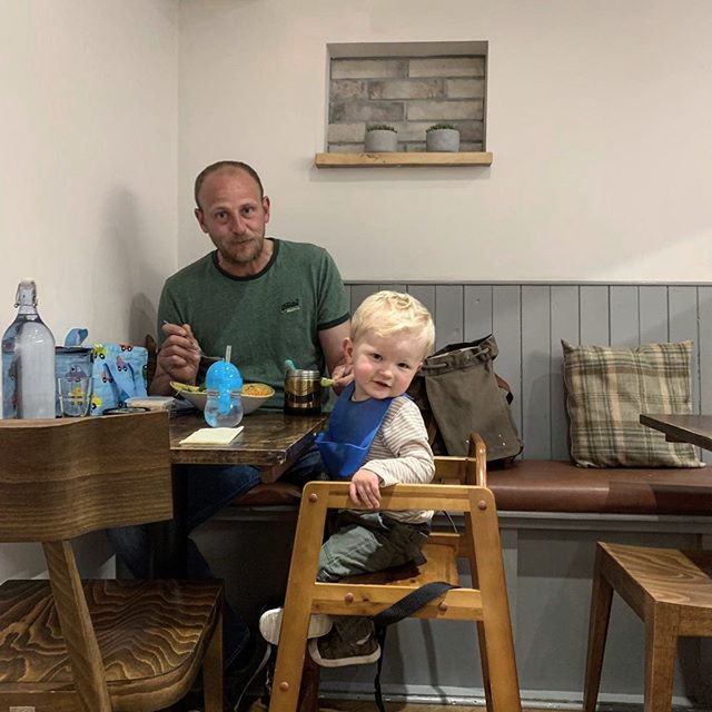 Happy Fathers Day to all the dads today! The daddy in our house definitely deserves an extra special day today, as he is always helping out behind the scenes at The Granary to keep things running smoothly and always working hard maintaining the interior and equipment in the cafe.