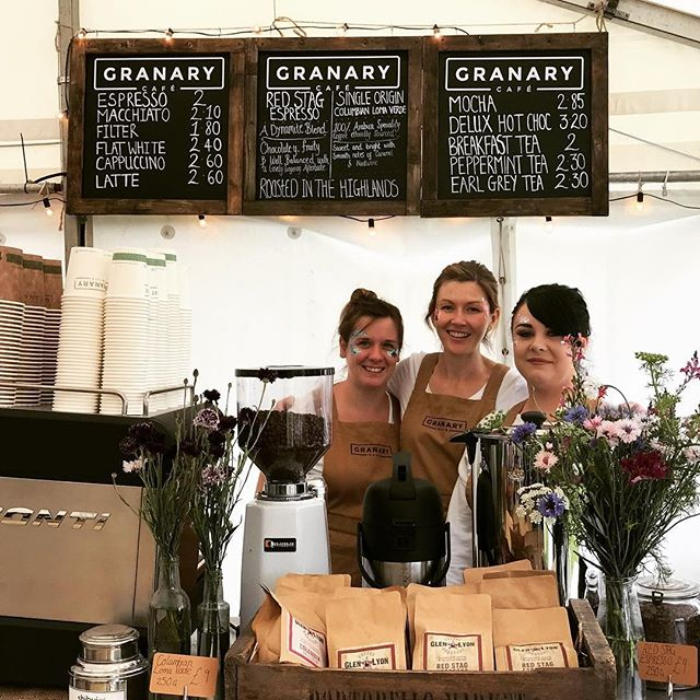 #ThrowbackThursday to last year when we had our pop-up at @PartyatPalace!⠀ We will be back again this summer to ensure you get your caffeine fix.⠀ .⠀ .⠀ .⠀ #GranaryCafeLinlithgow #Linlithgow #WestLothian #EdinburghFood #EdinburghFoodie #EdinburghCafe #Cafes #Cafestagram #ScottishFood #ScottishFoodie #SeasonalProduce #ScottishProduce #ScottishBusiness #NeighbourhoodCafe #CosyCafe #LocalCafe #OutsideCatering #EventCatering #ArtisanCoffee #CaffeineFix #IcedCoffee #CoffeeMaker #MusicFestival #ScottishFestival