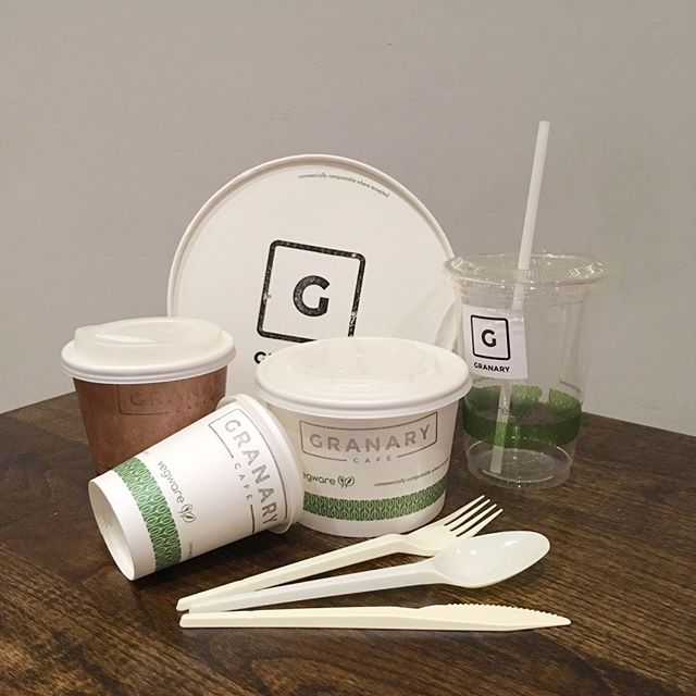 This month is #PlasticFreeJuly.⠀ ⠀ Here at The Granary we are committed to doing all we can to increase sustainability, and reduce waste, especially plastics.⠀ ⠀ To help minimise our impact on the environment, we use compostable, plant-based packaging from the awesome @vegware for all of our takeaway food and drink, as well as biodegradable straws and disposable cutlery.⠀ ⠀ We also recycle all of our food waste, cardboard, and plastics, and thanks to our lovely neighbours @cafebar1807, all of our glass too. 100% of our coffee grounds also go to compost.⠀ ⠀ We are always on the lookout for new ways to further reduce our waste, and would love to hear your suggestions.⠀ .⠀ .⠀ .⠀ #GranaryCafeLinlithgow #Linlithgow #WestLothian #EdinburghFood #EdinburghFoodie #EdinburghCafe #Cafes #Cafestagram #ScottishFood #ScottishFoodie #SeasonalProduce #ScottishProduce #ScottishBusiness #ArtisanCoffee #SpecialityCoffee #ScottishCoffee #Compostable #CompostablePackaging #ReuseRecycle #Recycling #CoffeeGrounds #Recyclable #SaveTheEarth #SustainableLiving #PlasticFreeLiving #PlasticFreeProducts #ChooseToReuse #Biodegradable #PlasticFreeJuly2019
