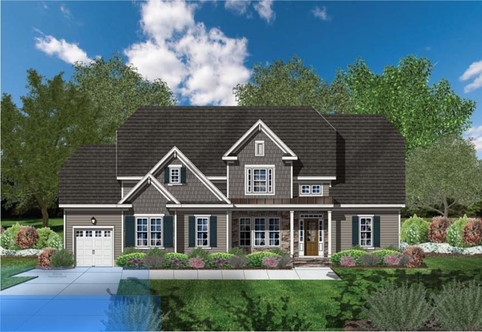 Wake Forest - Stonewater - Luxury Custom home built by award winning Exeter Building Company